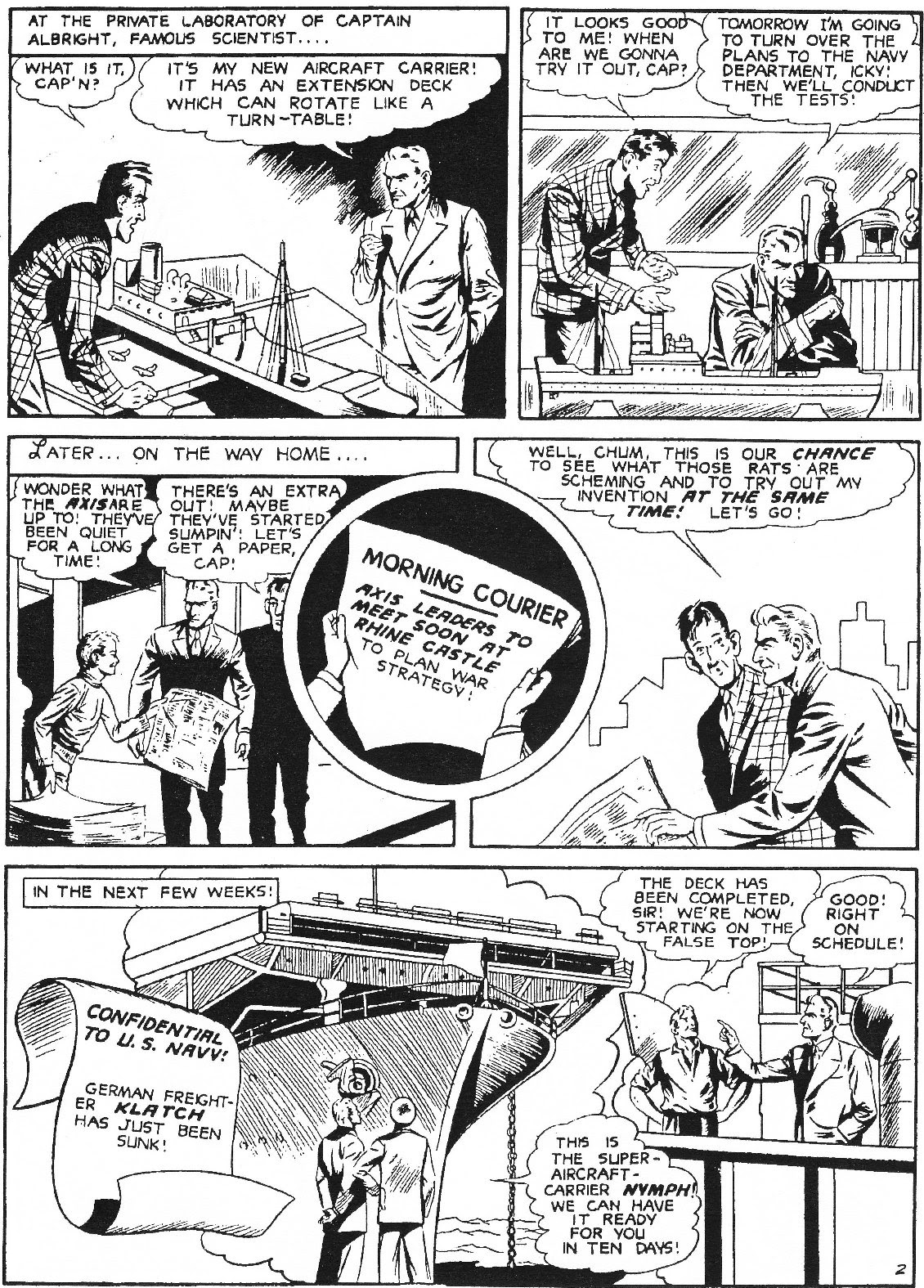 Captain Midnight (1942) issue 11 - Page 13