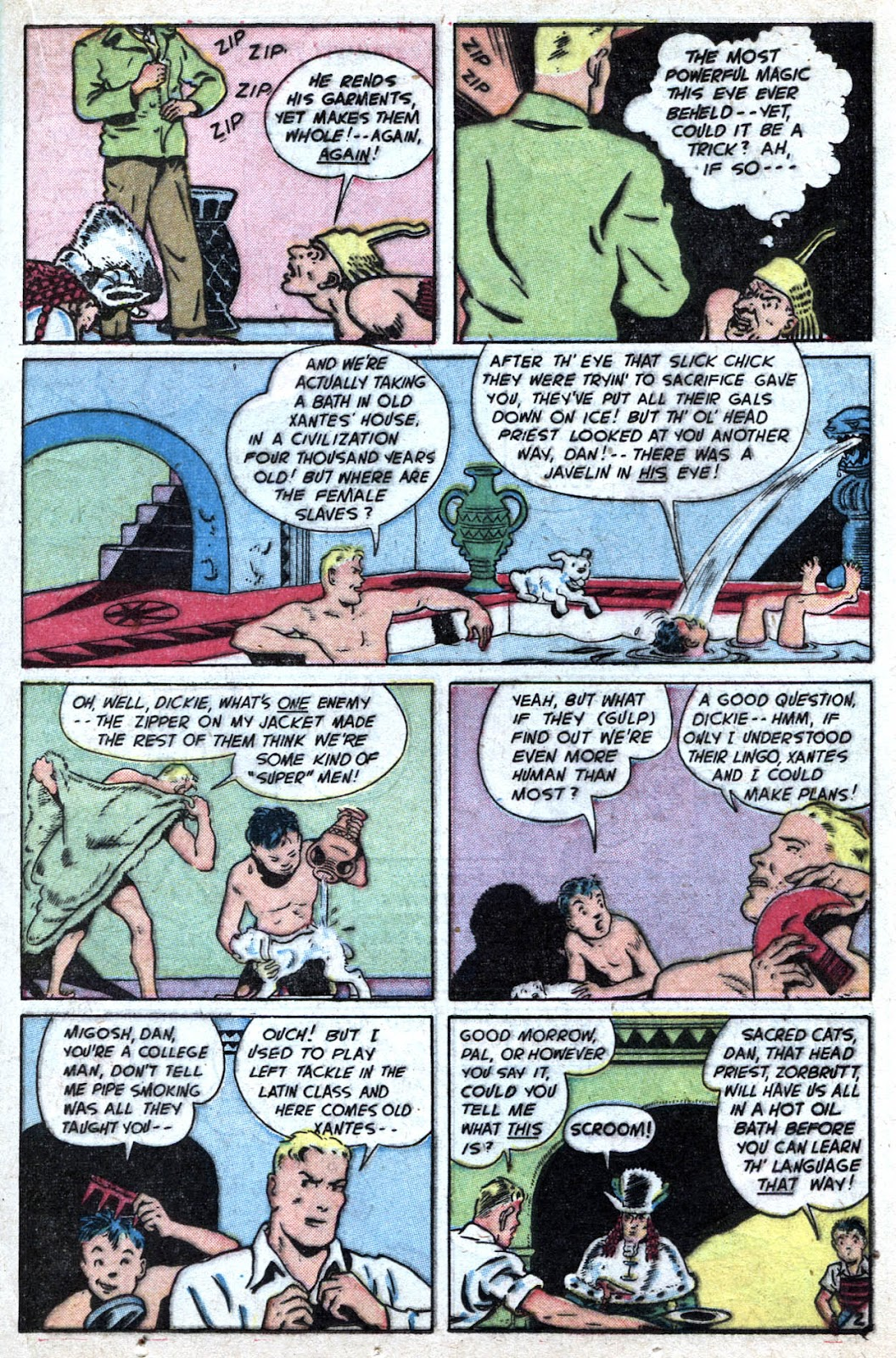 Read online Famous Funnies comic -  Issue #184 - 21