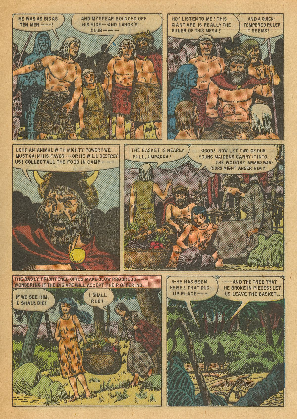Read online Turok, Son of Stone comic -  Issue #6 - 9