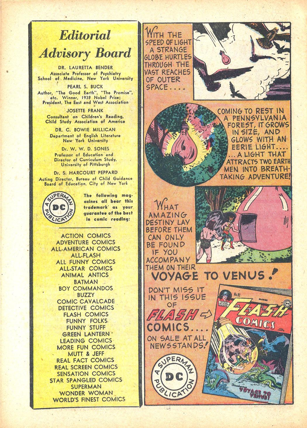 Read online Sensation (Mystery) Comics comic -  Issue #63 - 16