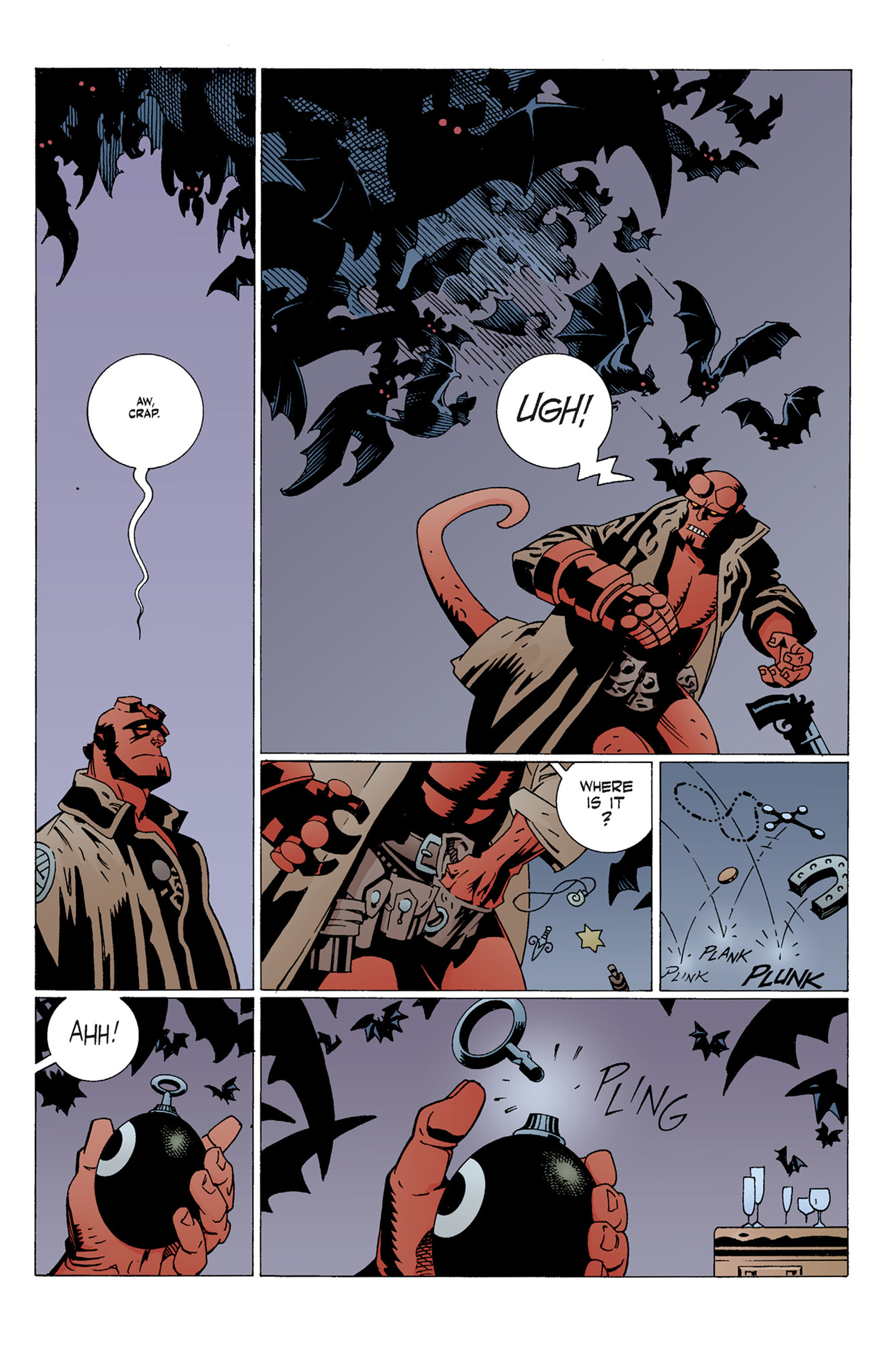 Read online Hellboy: The Troll Witch and Others comic -  Issue # TPB - 41