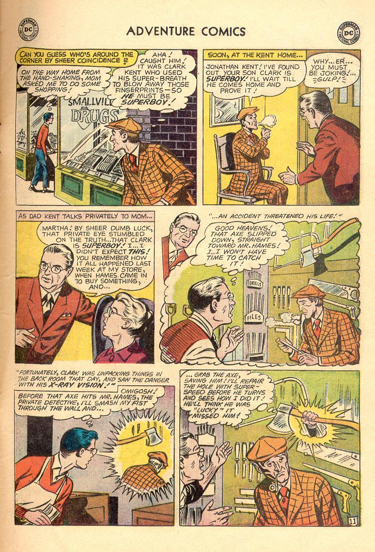 Read online Adventure Comics (1938) comic -  Issue #263 - 13