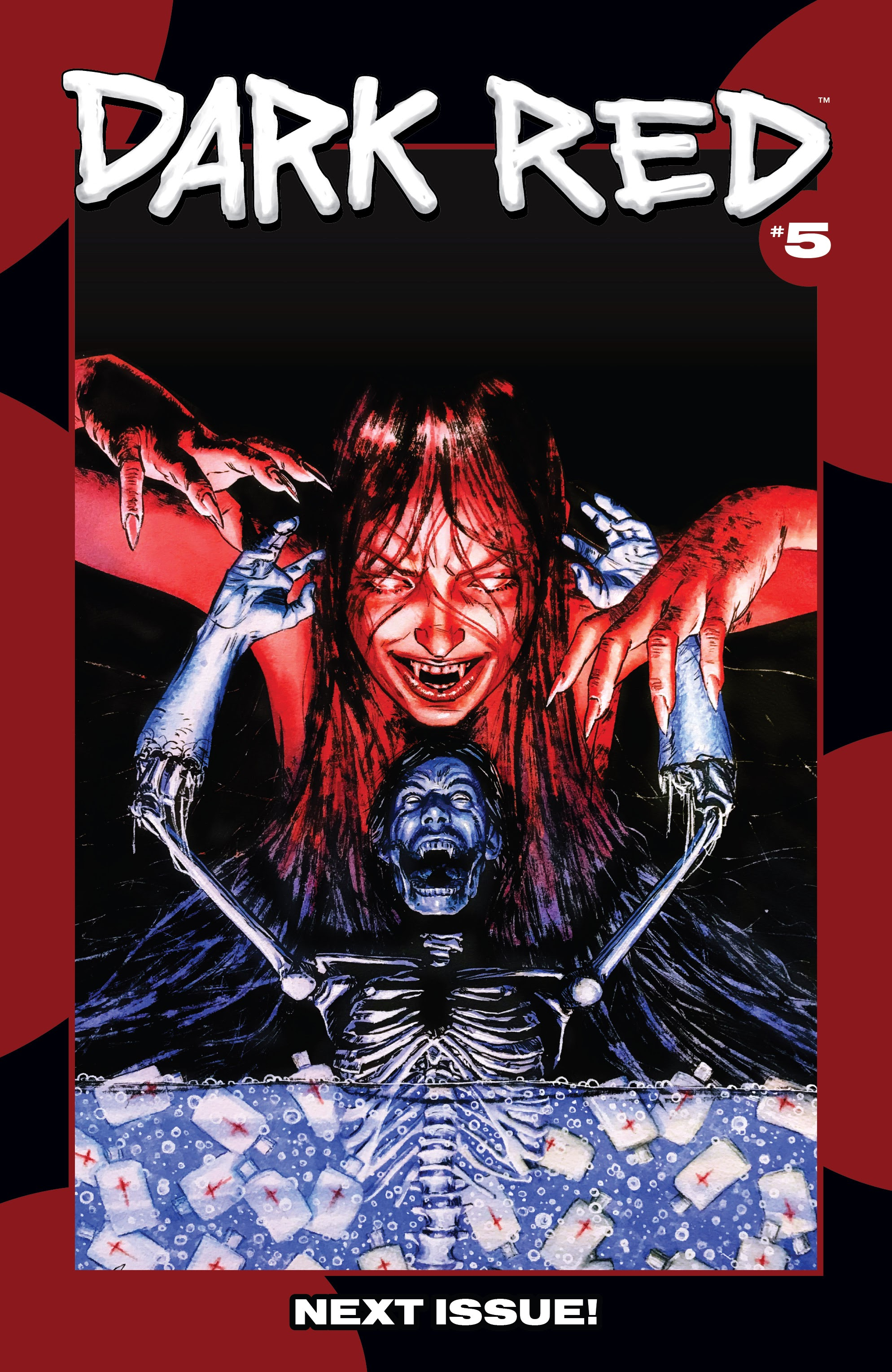 Read online Dark Red comic -  Issue #4 - 23