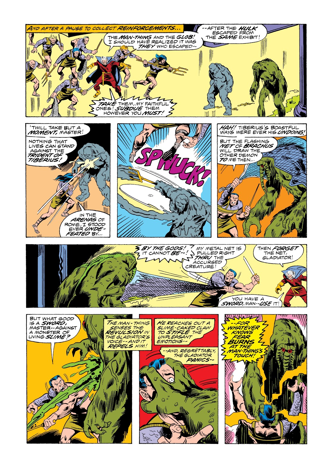 Read online Marvel Masterworks: The Incredible Hulk comic -  Issue # TPB 12 (Part 1) - 40