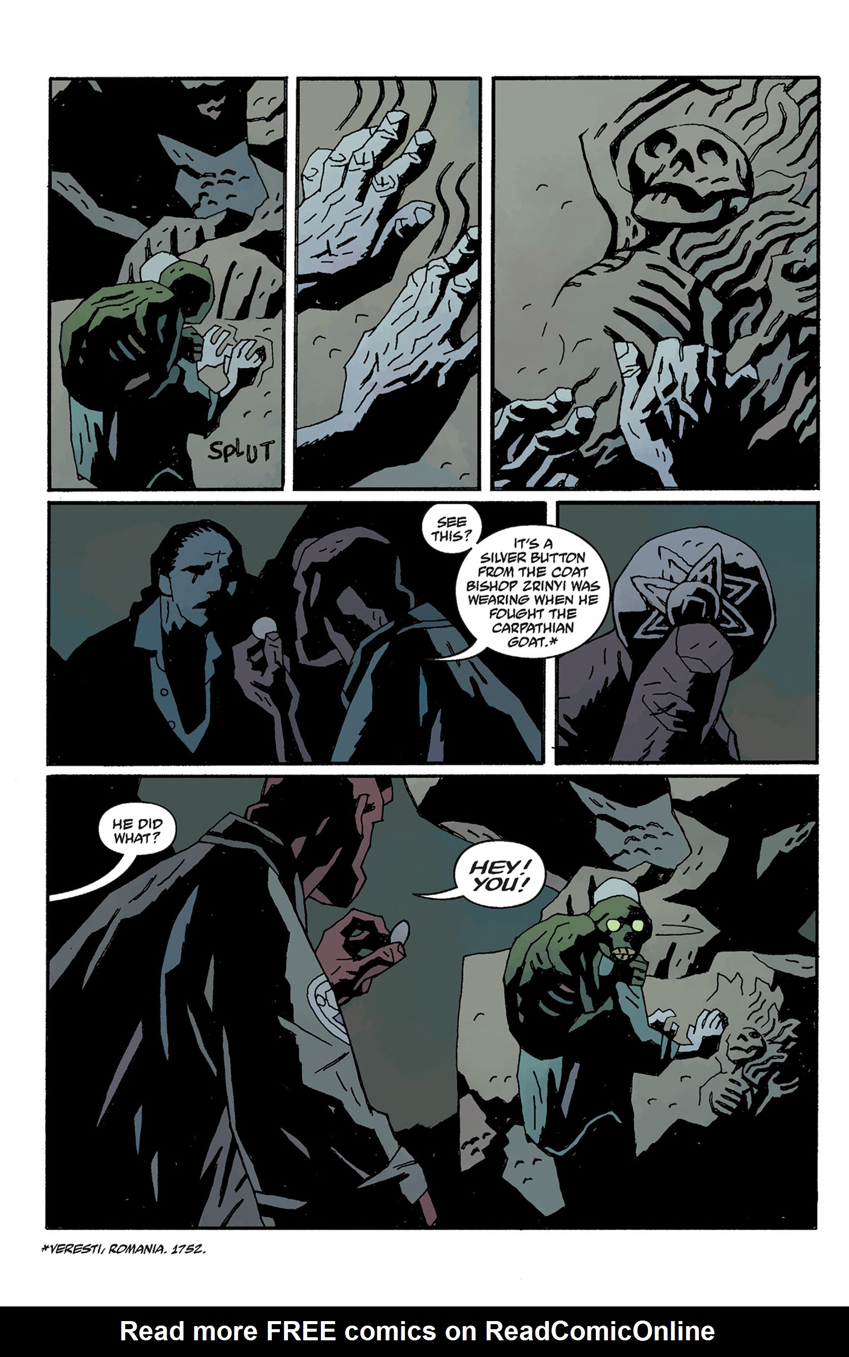 Read online Hellboy: The Crooked Man and Others comic -  Issue # TPB - 124