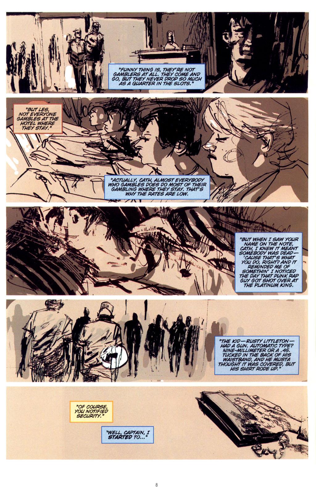 Read online CSI: Crime Scene Investigation: Bad Rap comic -  Issue #4 - 9