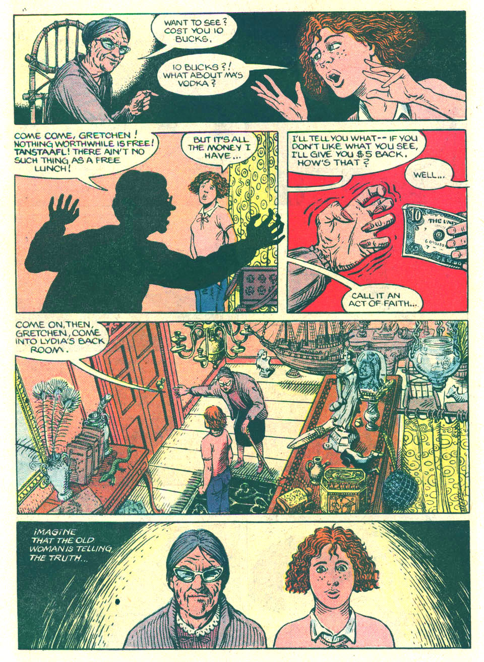 Elvira's House of Mystery Issue #8 #9 - English 8