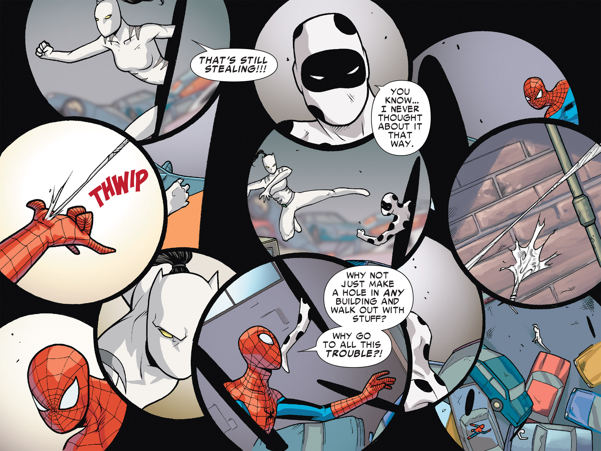 Read online Ultimate Spider-Man (Infinite Comics) (2016) comic -  Issue #6 - 31