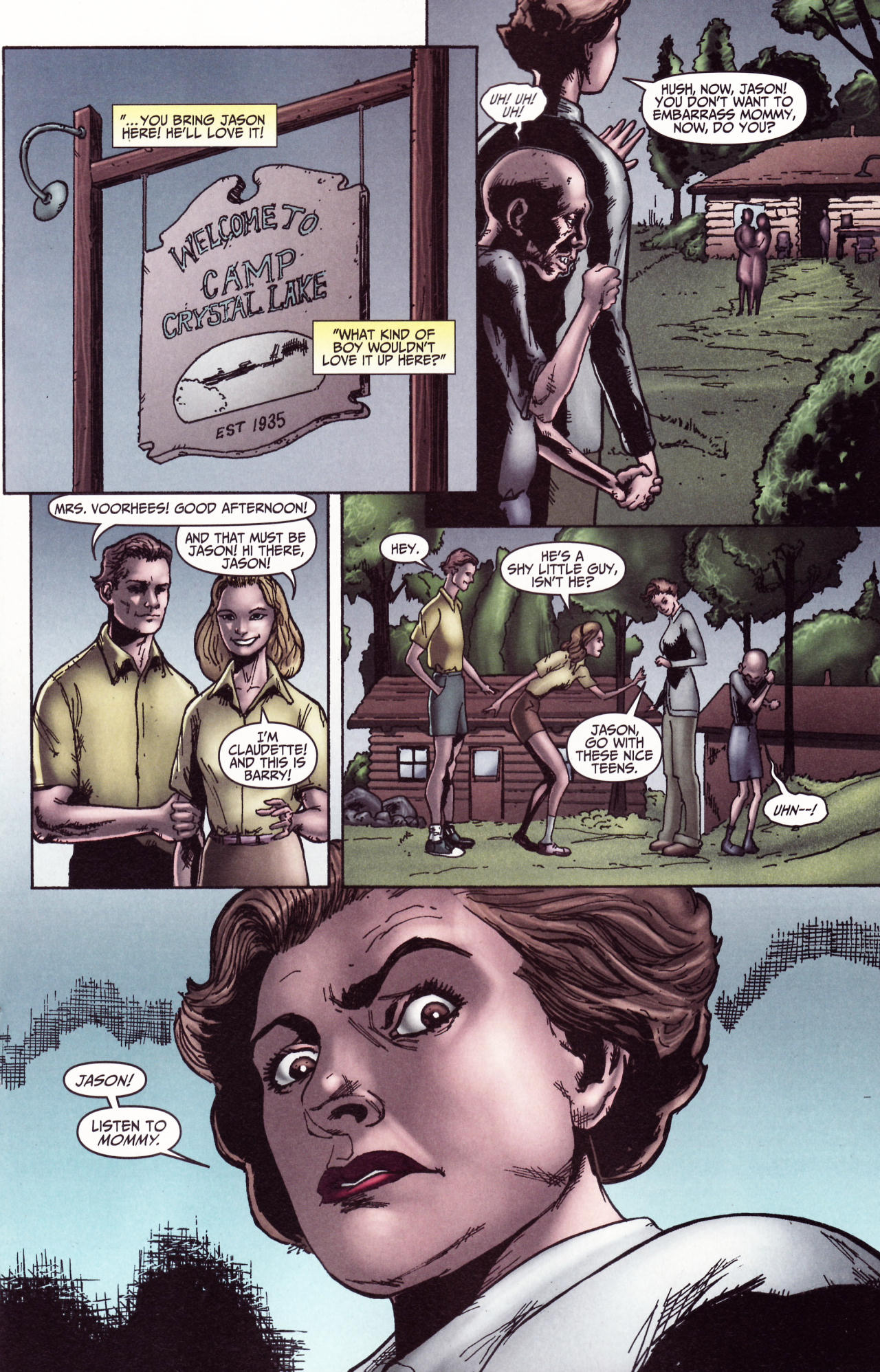 Read online Friday the 13th: Pamela's Tale comic -  Issue #2 - 14