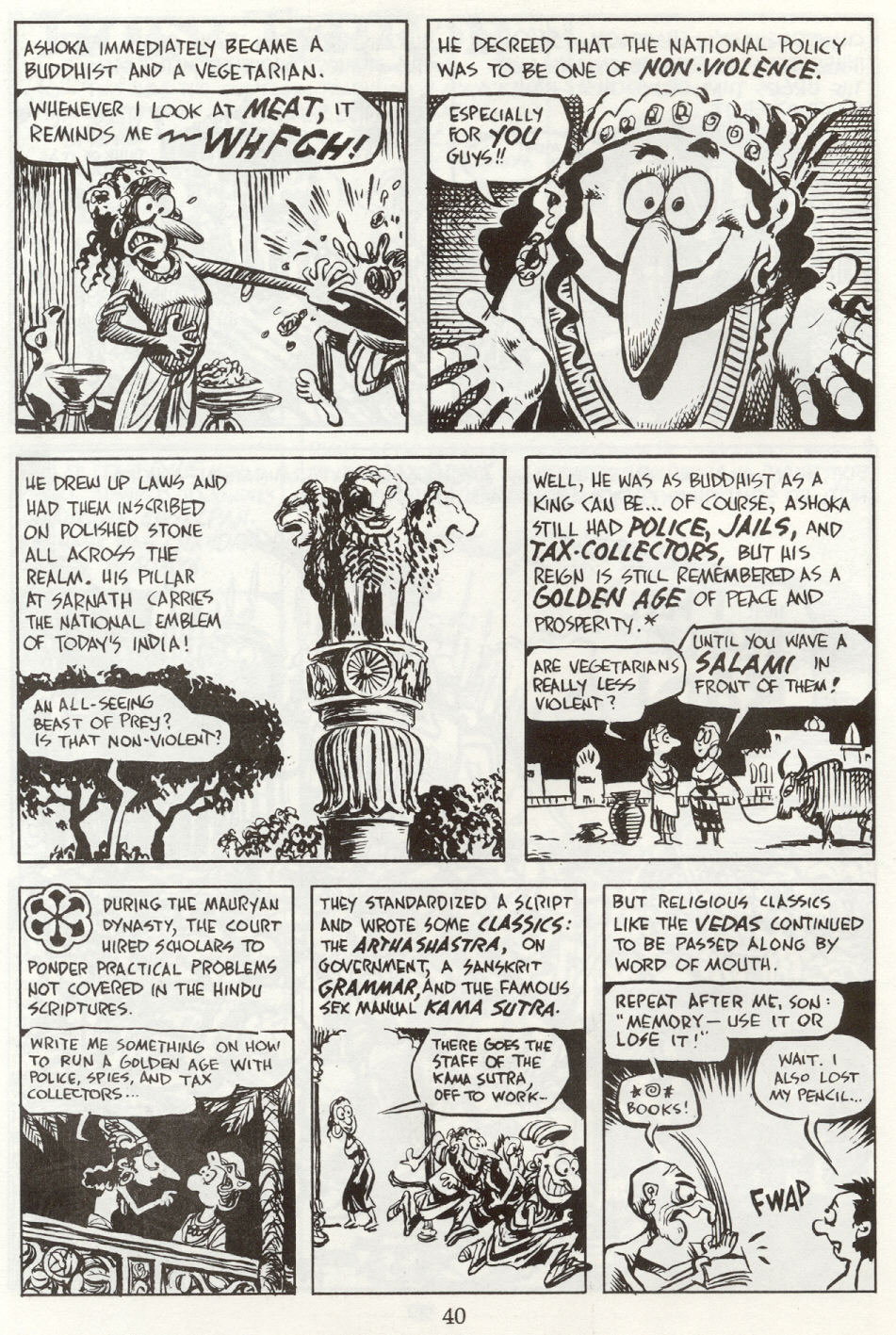 Read online The Cartoon History of the Universe comic -  Issue #8 - 43