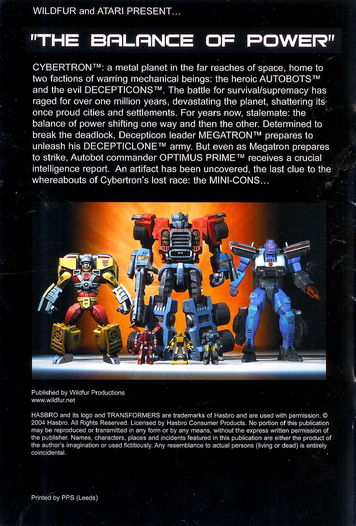 Read online Transformers: The Balance of Power comic -  Issue # Full - 3