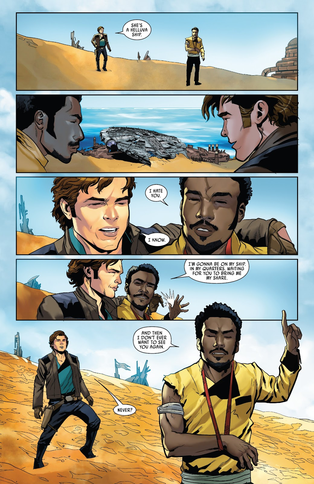 Read online Solo: A Star Wars Story Adaptation comic -  Issue #5 - 18