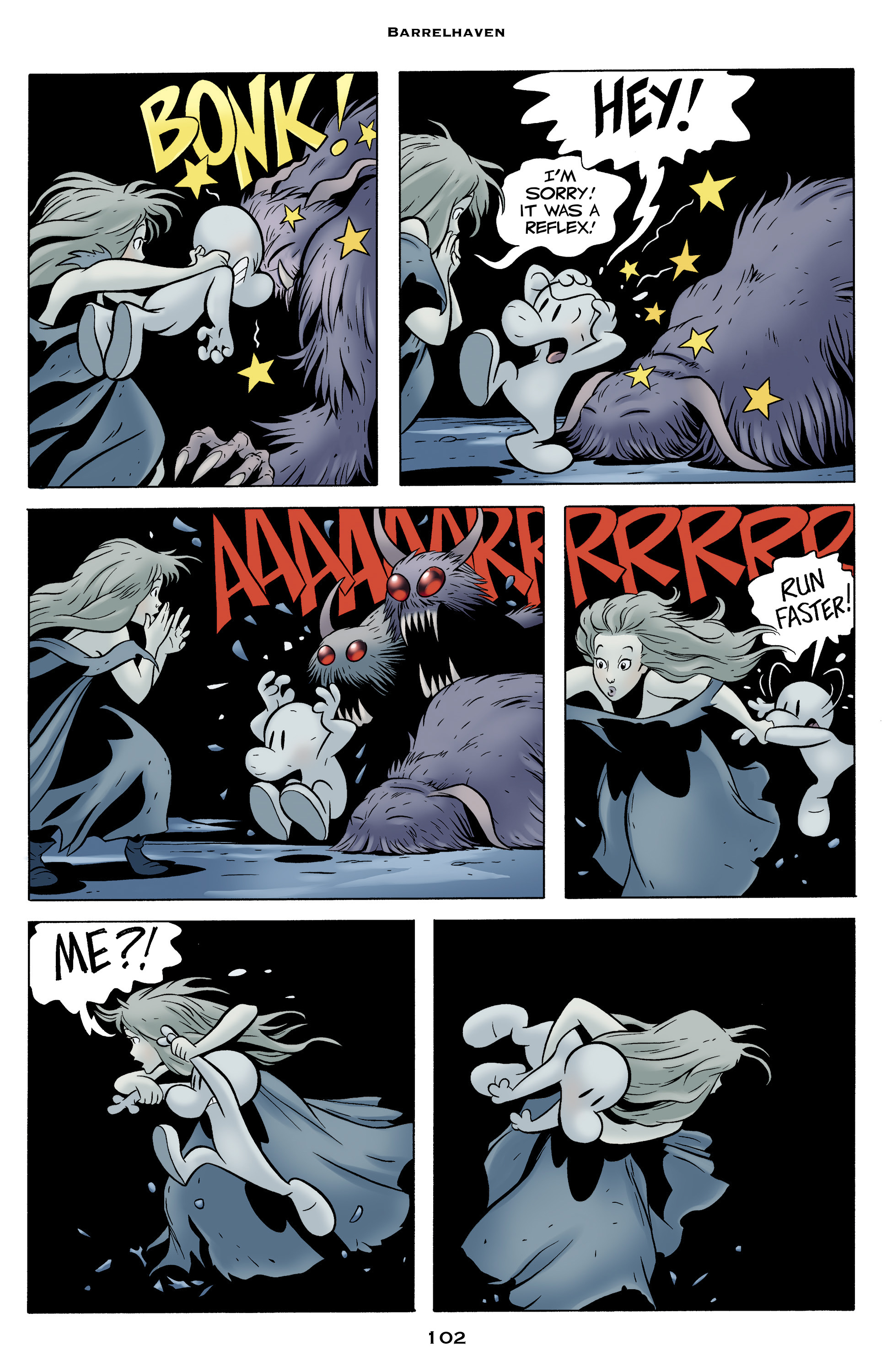 Read online Bone: Out From Boneville comic -  Issue # TPB - 102
