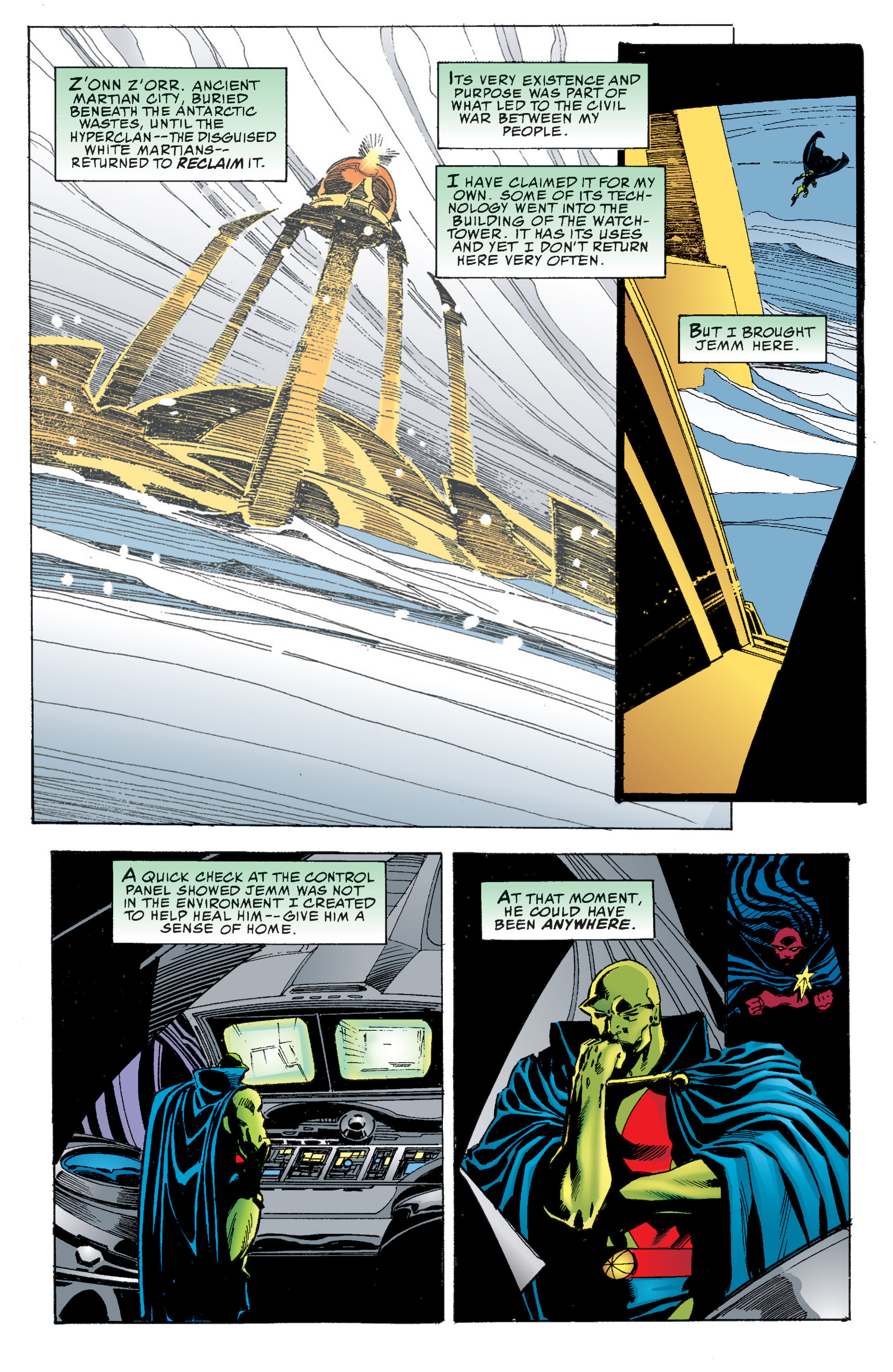 Read online Martian Manhunter: Son of Mars comic -  Issue # TPB - 114