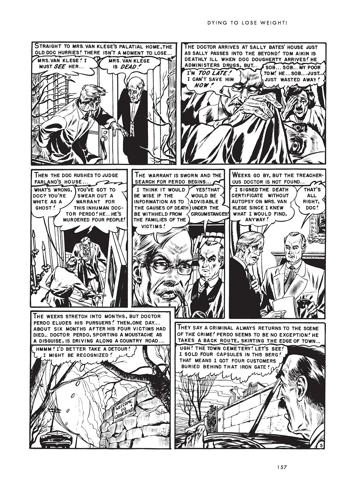 Read online Doctor of Horror and Other Stories comic -  Issue # TPB (Part 2) - 73