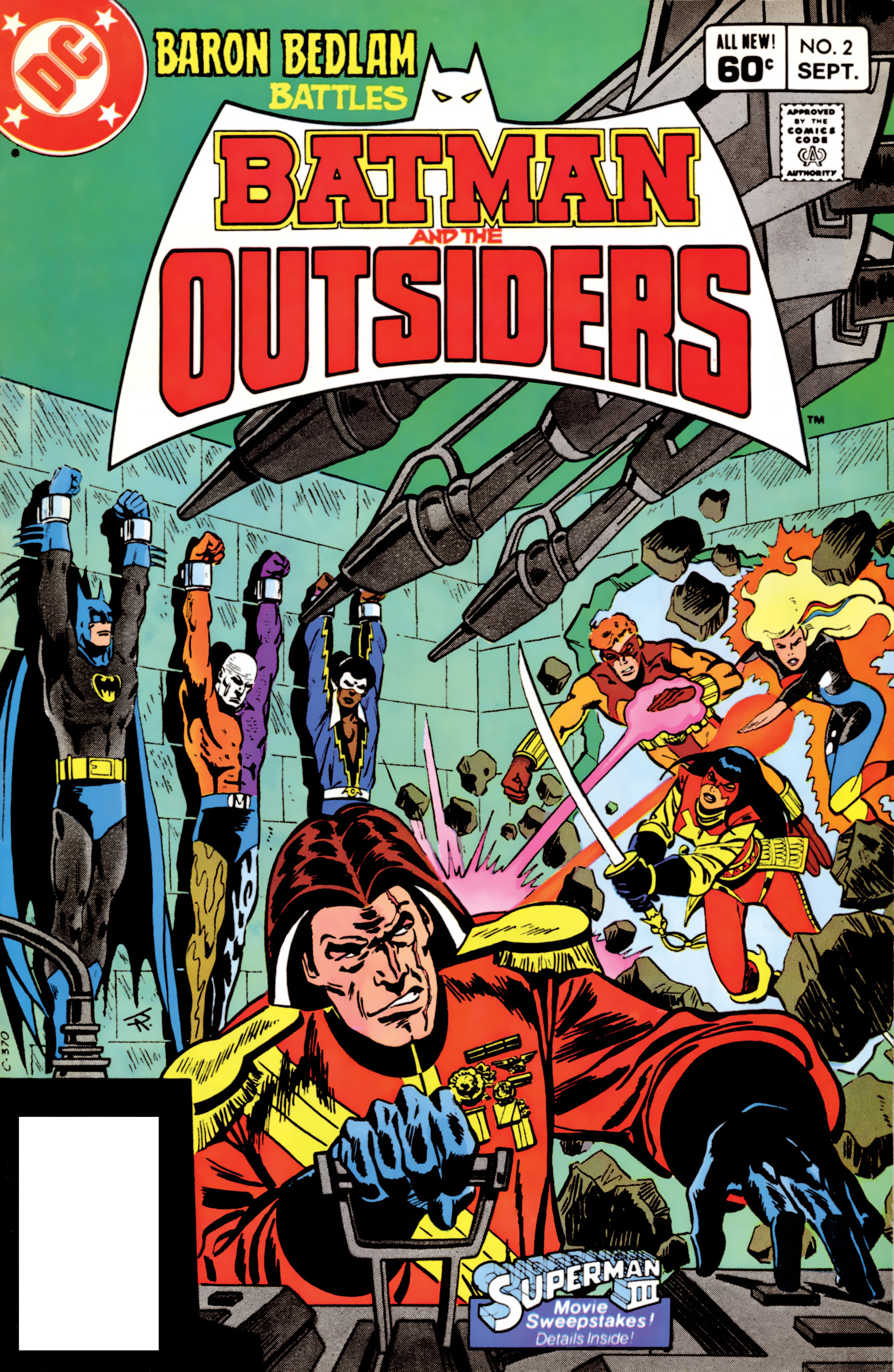Batman and the Outsiders (1983) 2 Page 1