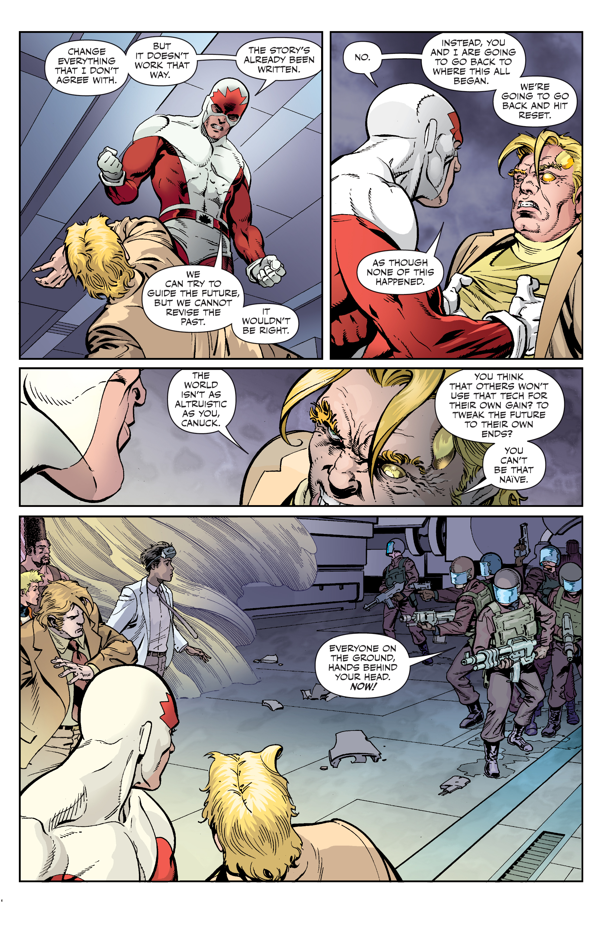 Read online All-New Classic Captain Canuck comic -  Issue #4 - 18