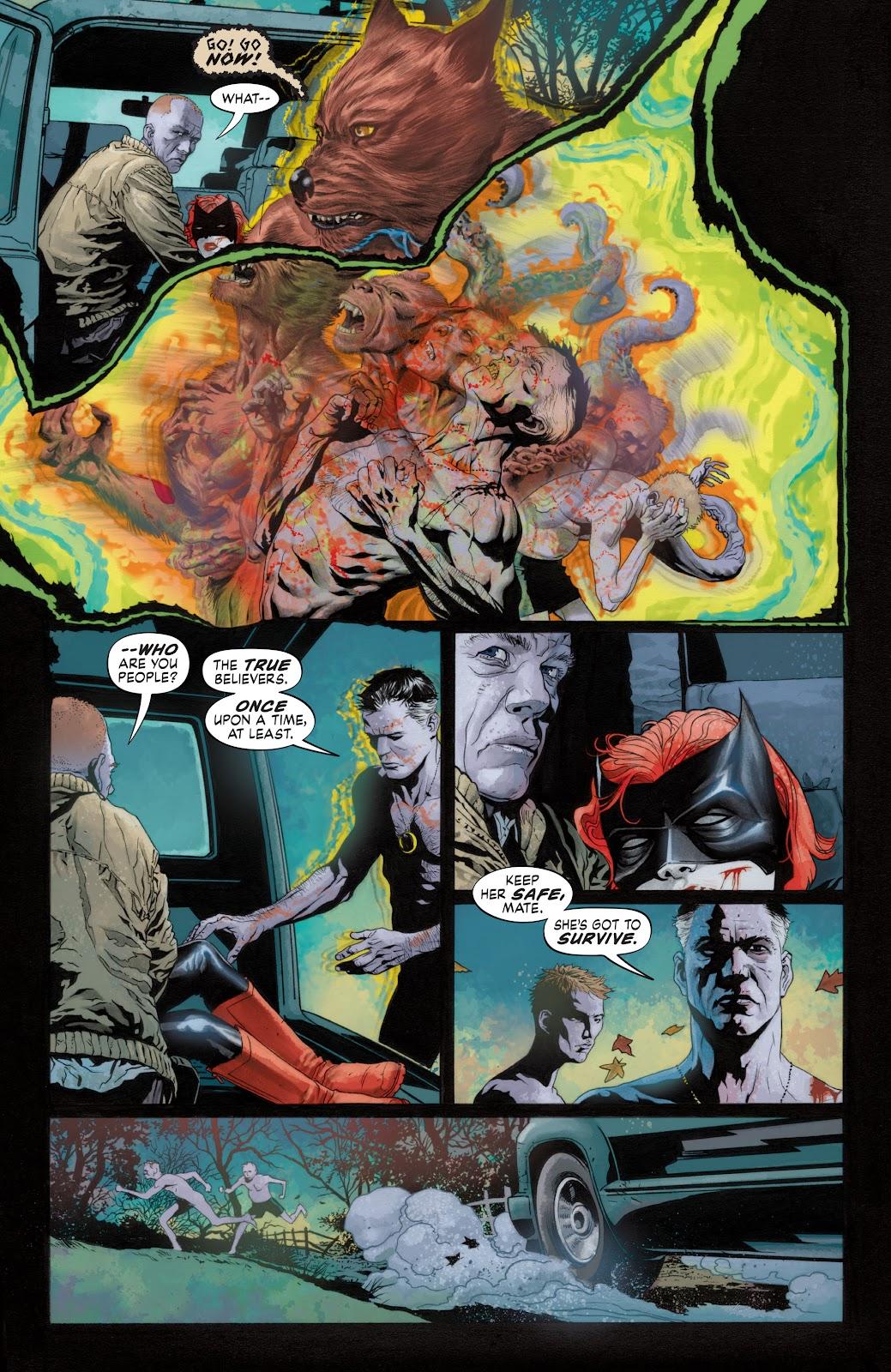 Read online Detective Comics (1937) comic -  Issue # _TPB Batwoman - Elegy (Part 1) - 51
