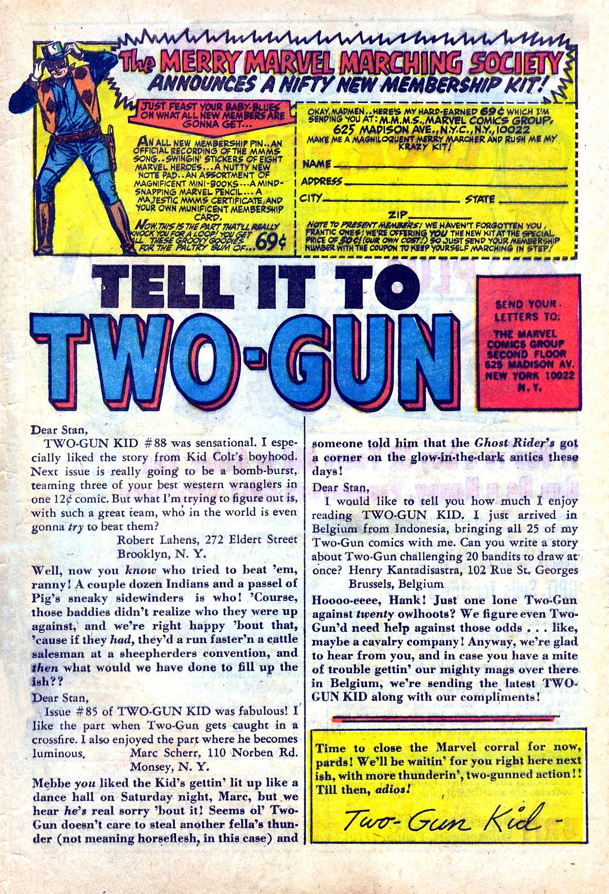 Read online Two-Gun Kid comic -  Issue #90 - 32