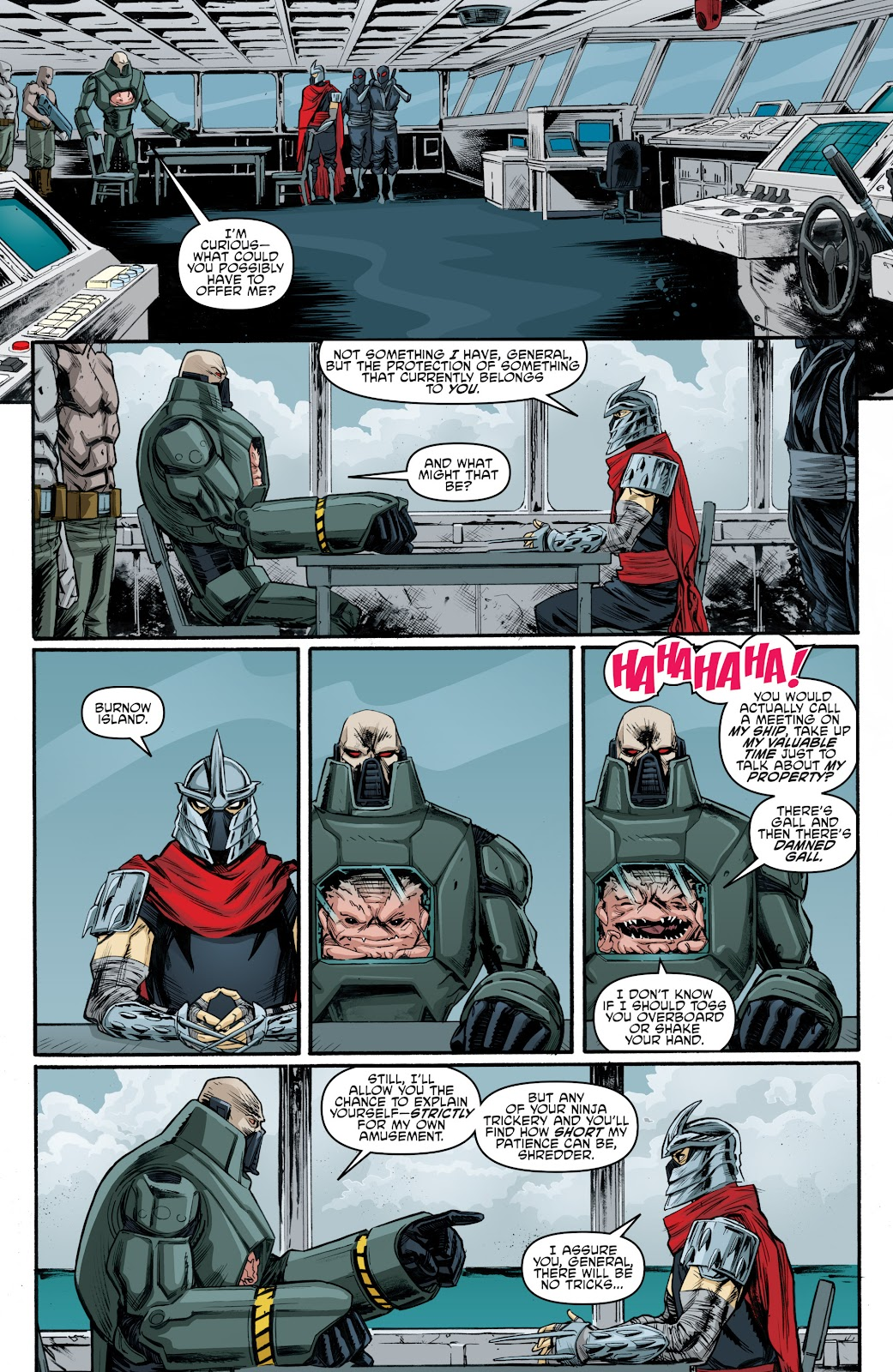 Read online Teenage Mutant Ninja Turtles: The IDW Collection comic -  Issue # TPB 4 (Part 3) - 100