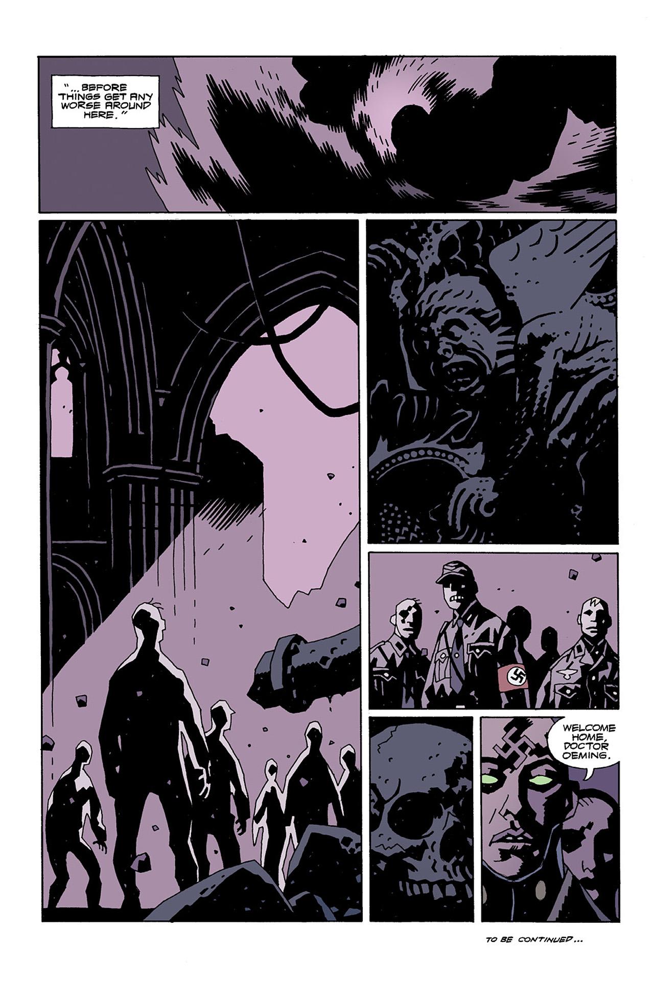 Read online Hellboy: Conqueror Worm comic -  Issue #2 - 30