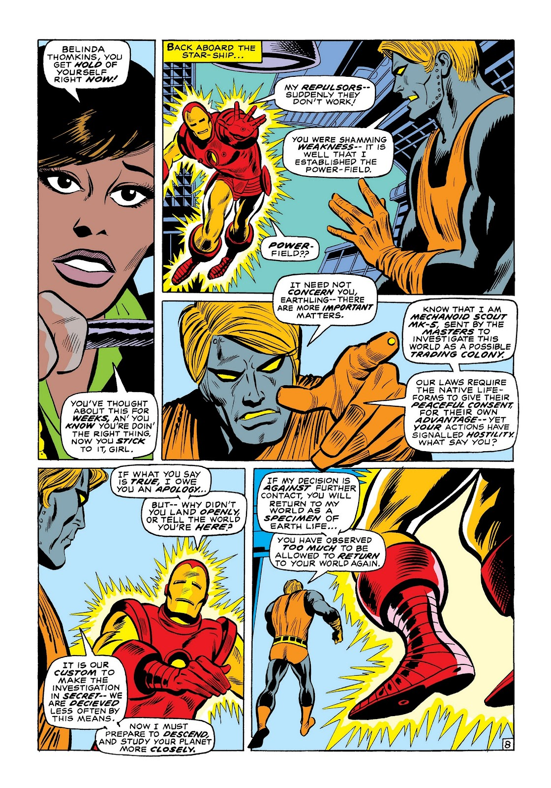 Read online Marvel Masterworks: The Invincible Iron Man comic -  Issue # TPB 7 (Part 2) - 37
