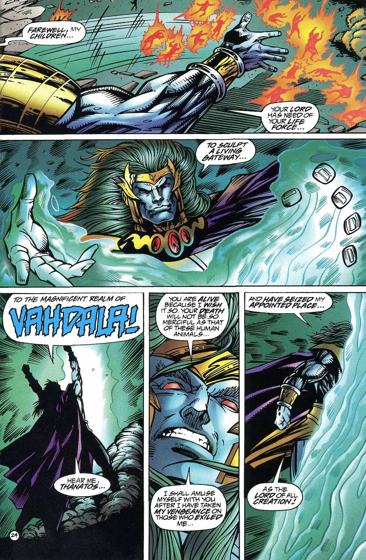 Read online Rune (1994) comic -  Issue #9 - 26
