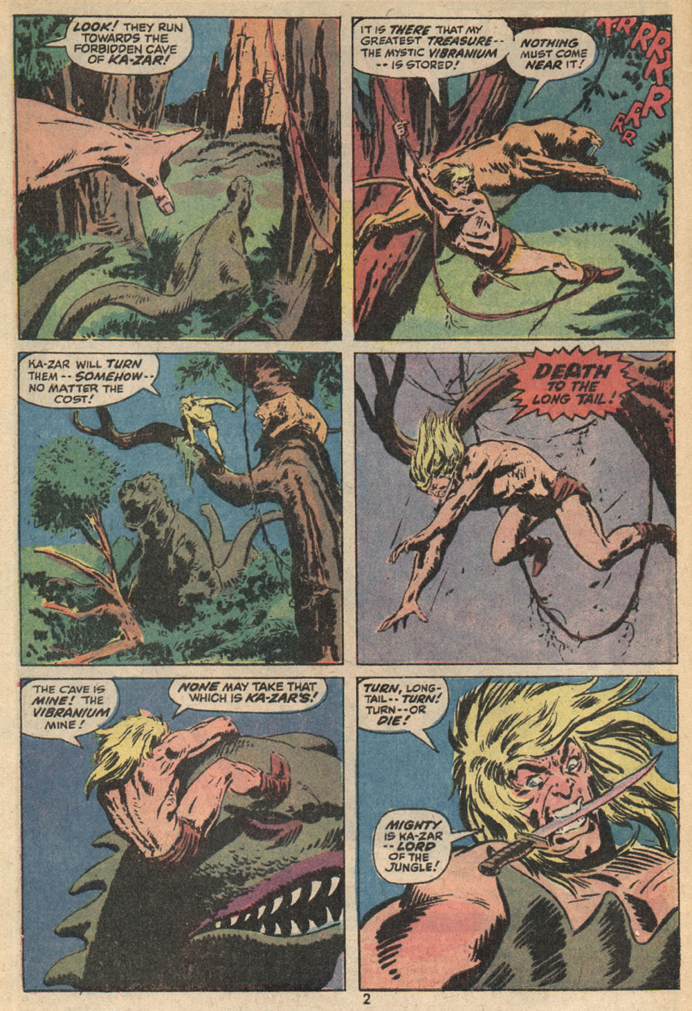 Astonishing Tales (1970) issue 14 - Page 3