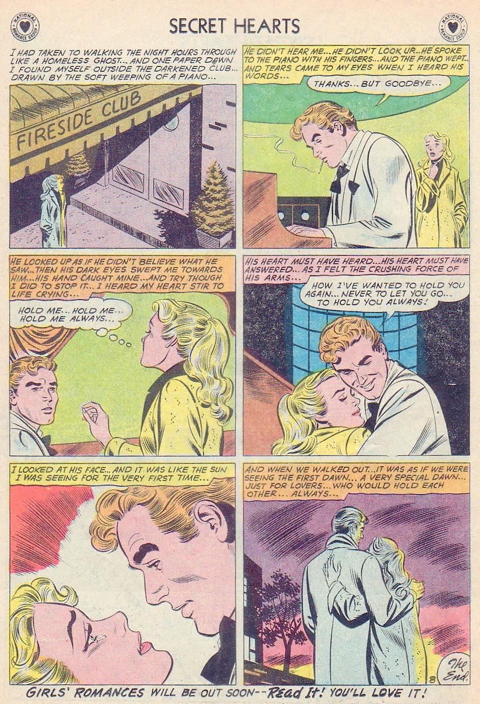 Read online Secret Hearts comic -  Issue #72 - 34