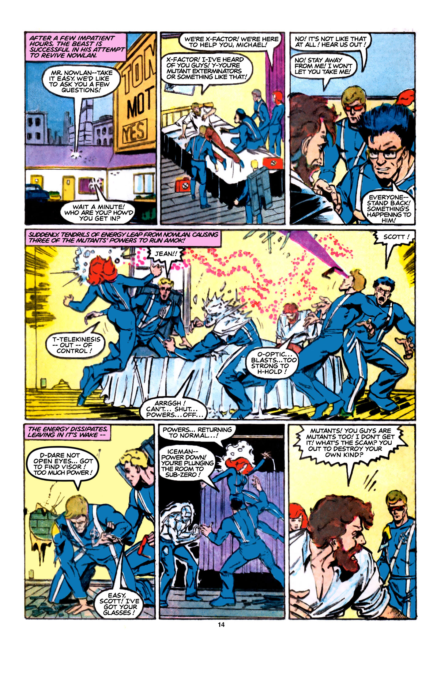 Read online X-Factor (1986) comic -  Issue #5 - 15