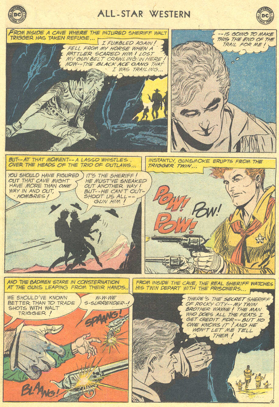 Read online All-Star Western (1951) comic -  Issue #105 - 4