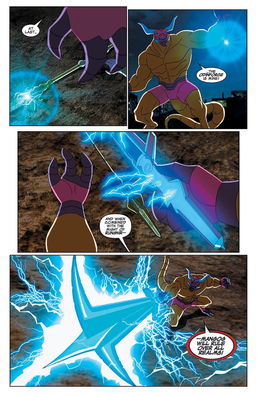 Read online Marvel Universe Avengers Assemble Season 2 comic -  Issue #7 - 22