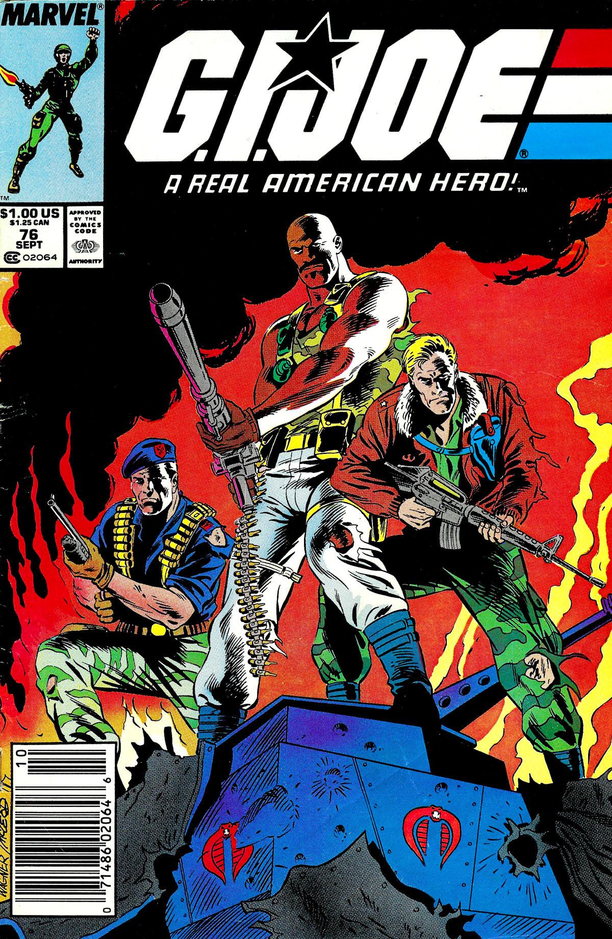 G.I. Joe: A Real American Hero 76 Page 1