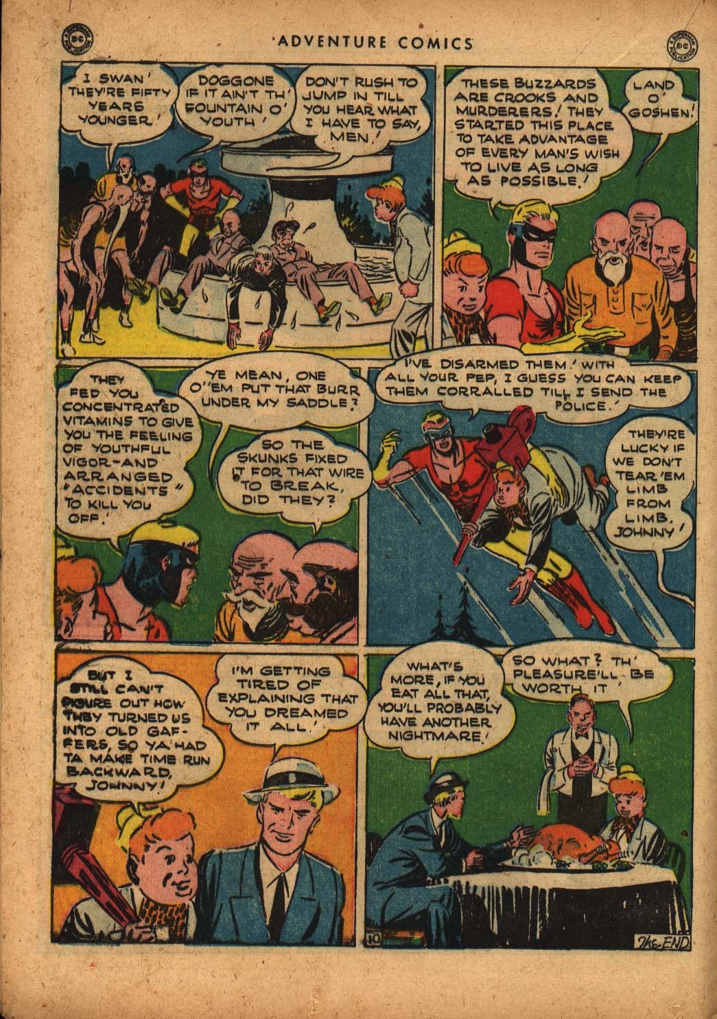 Read online Adventure Comics (1938) comic -  Issue #109 - 28