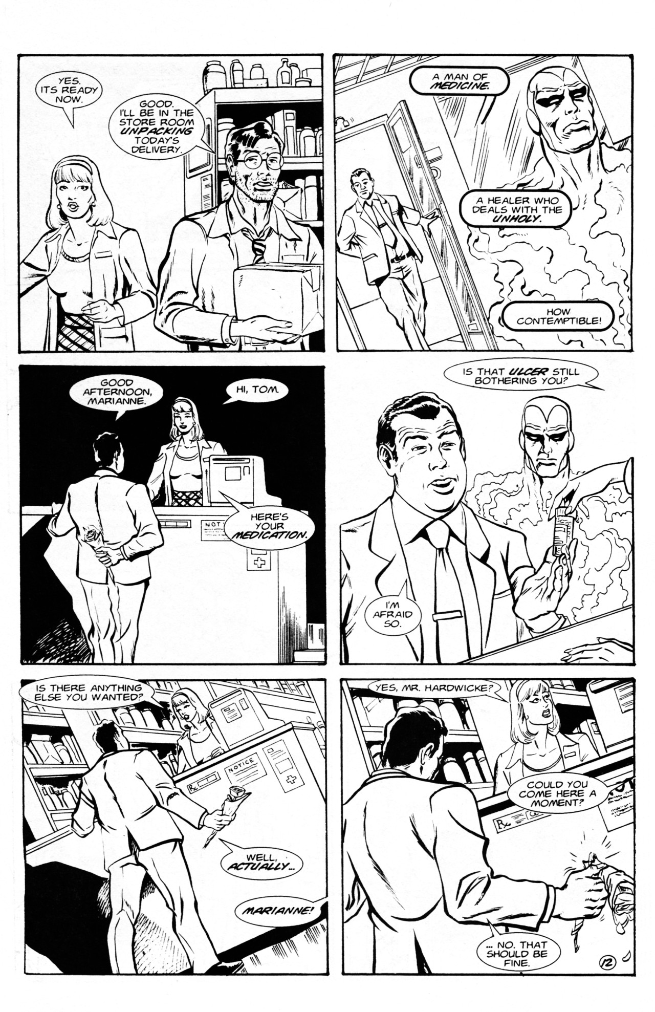 Read online Dr. Weird (1994) comic -  Issue #1 - 14