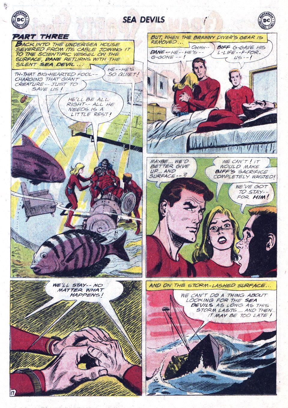 Read online Sea Devils comic -  Issue #11 - 24