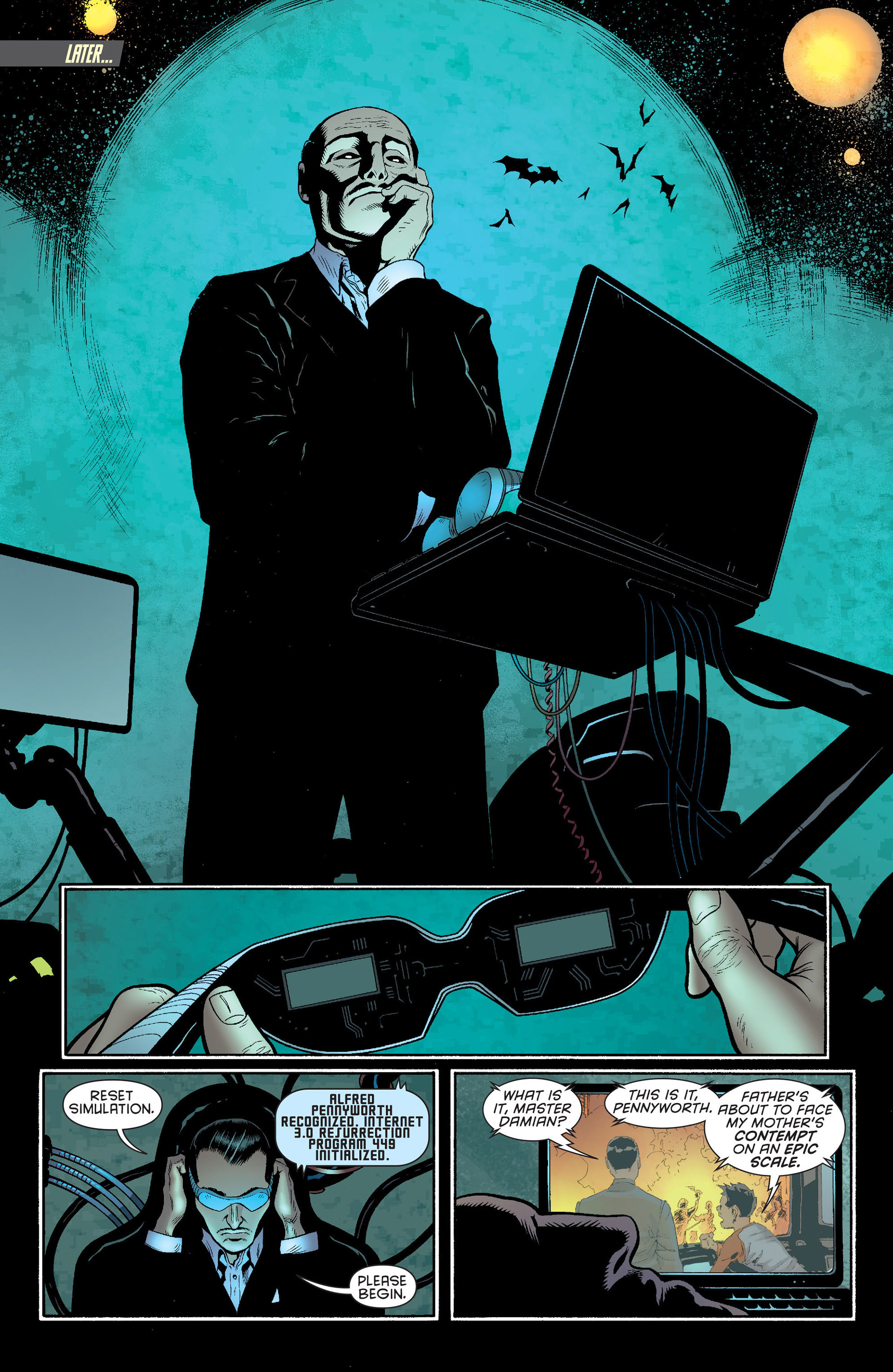 Read online Batman and Robin (2011) comic -  Issue #23 - Batman and Nightwing - 16