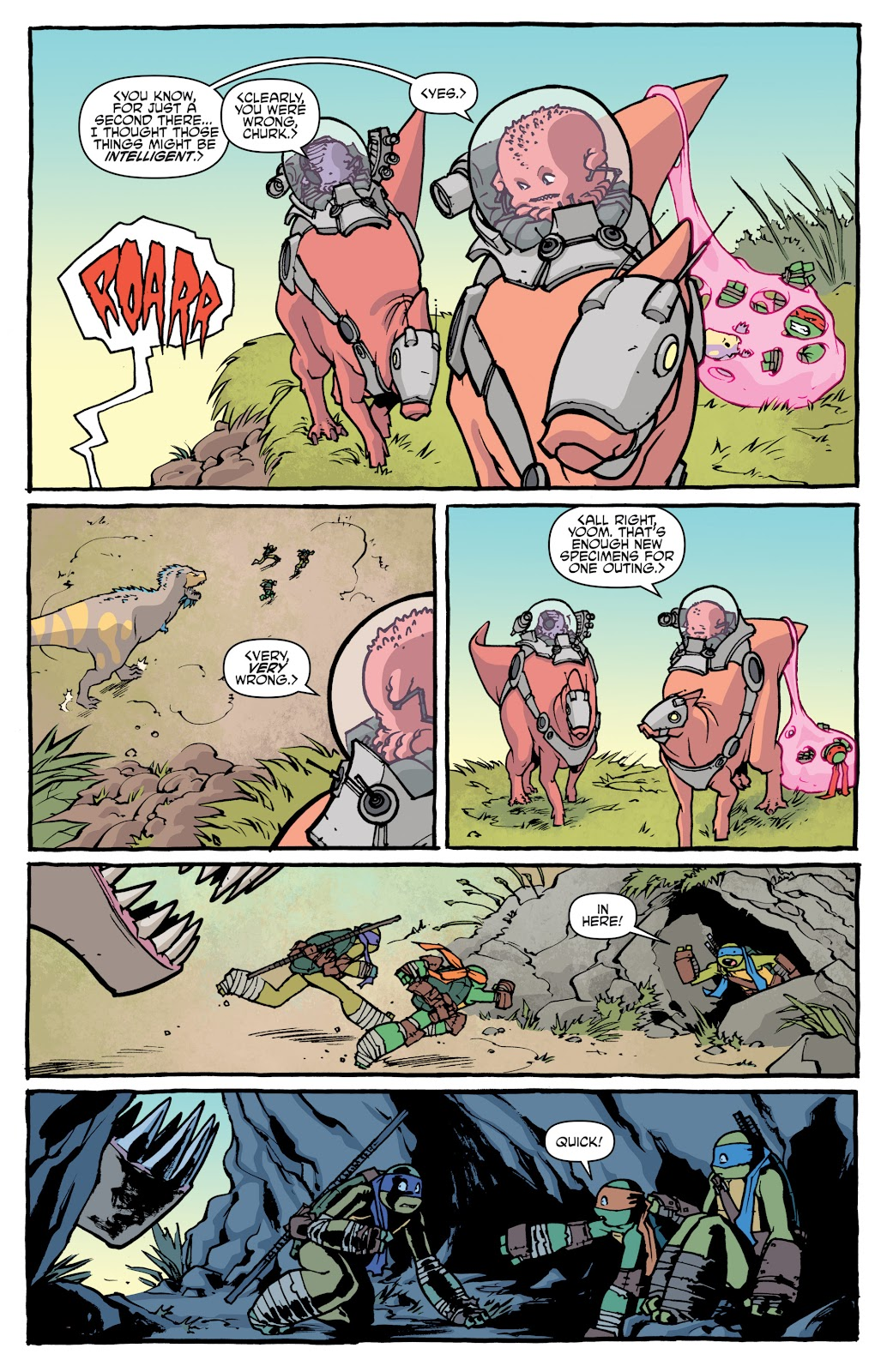 Read online Teenage Mutant Ninja Turtles: The IDW Collection comic -  Issue # TPB 5 (Part 1) - 14