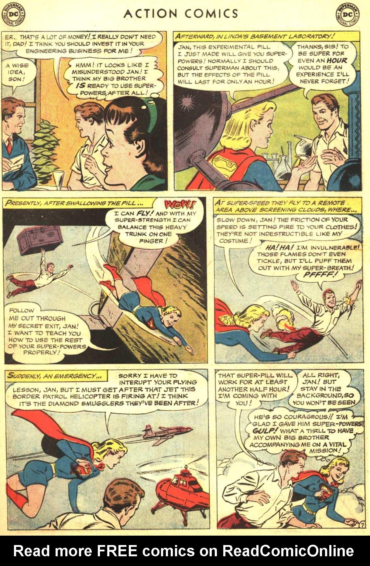 Action Comics (1938) 303 Page 21