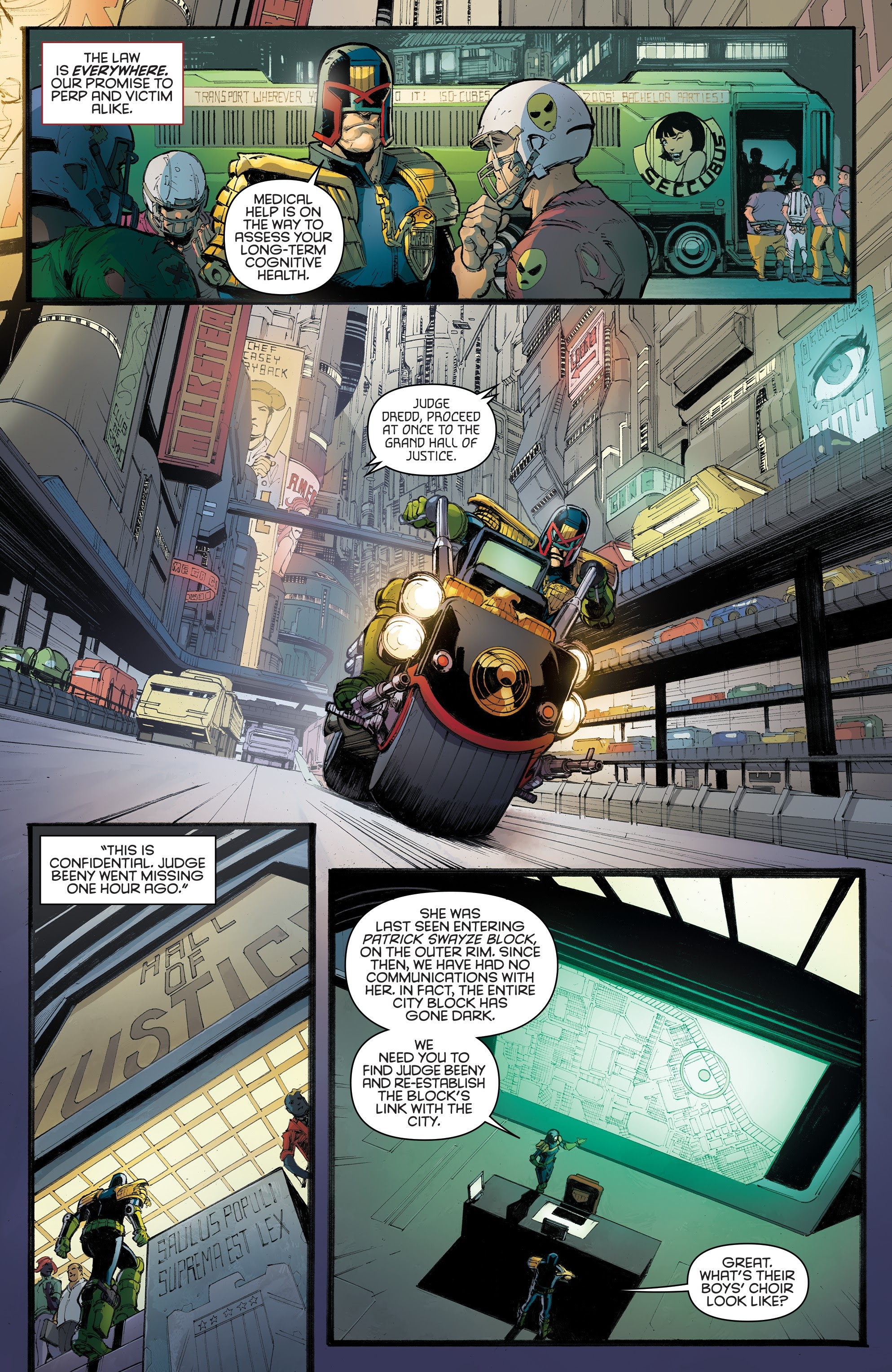 Judge Dredd: Toxic #4 #4 - English 31