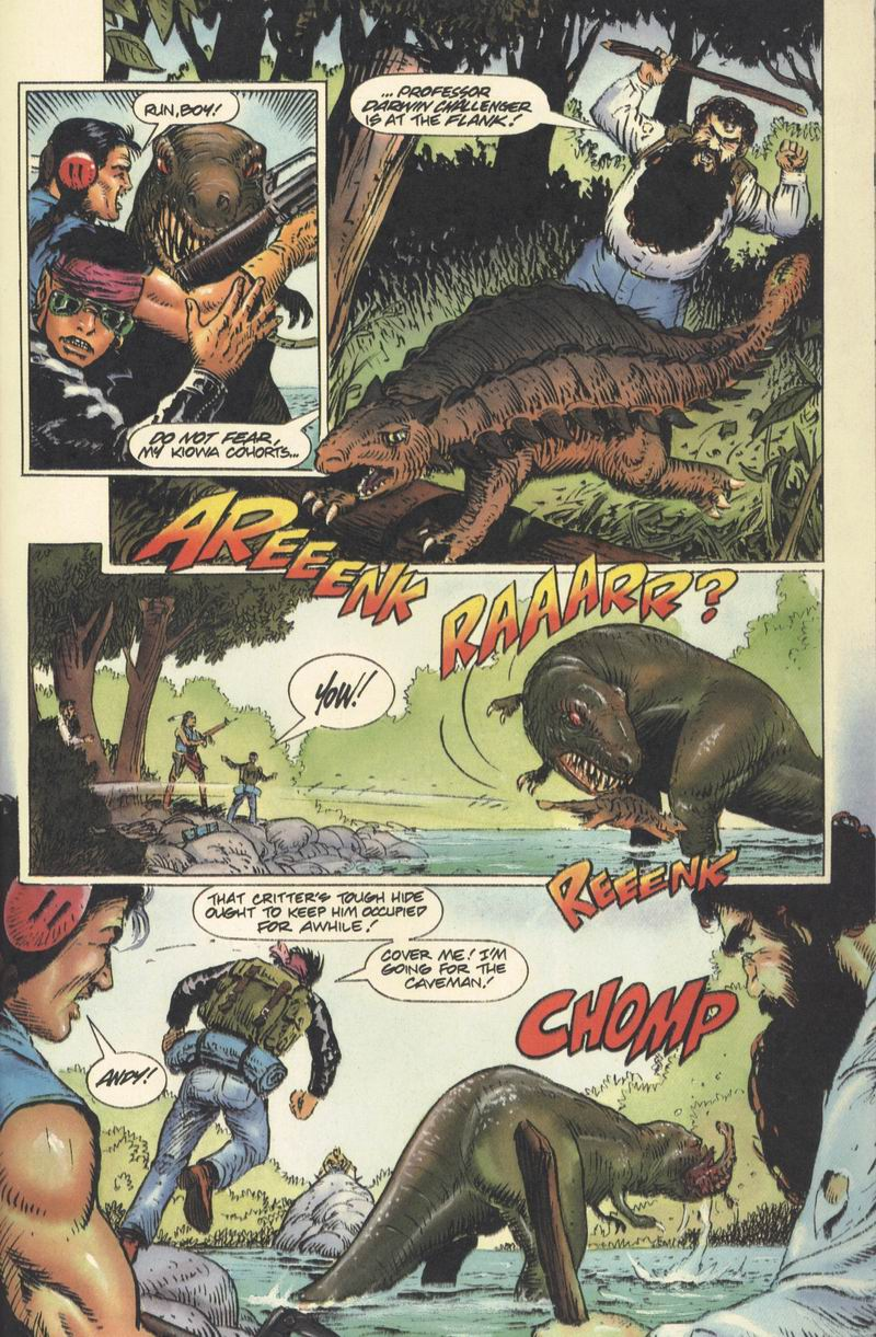 Read online Turok, Dinosaur Hunter (1993) comic -  Issue #9 - 6