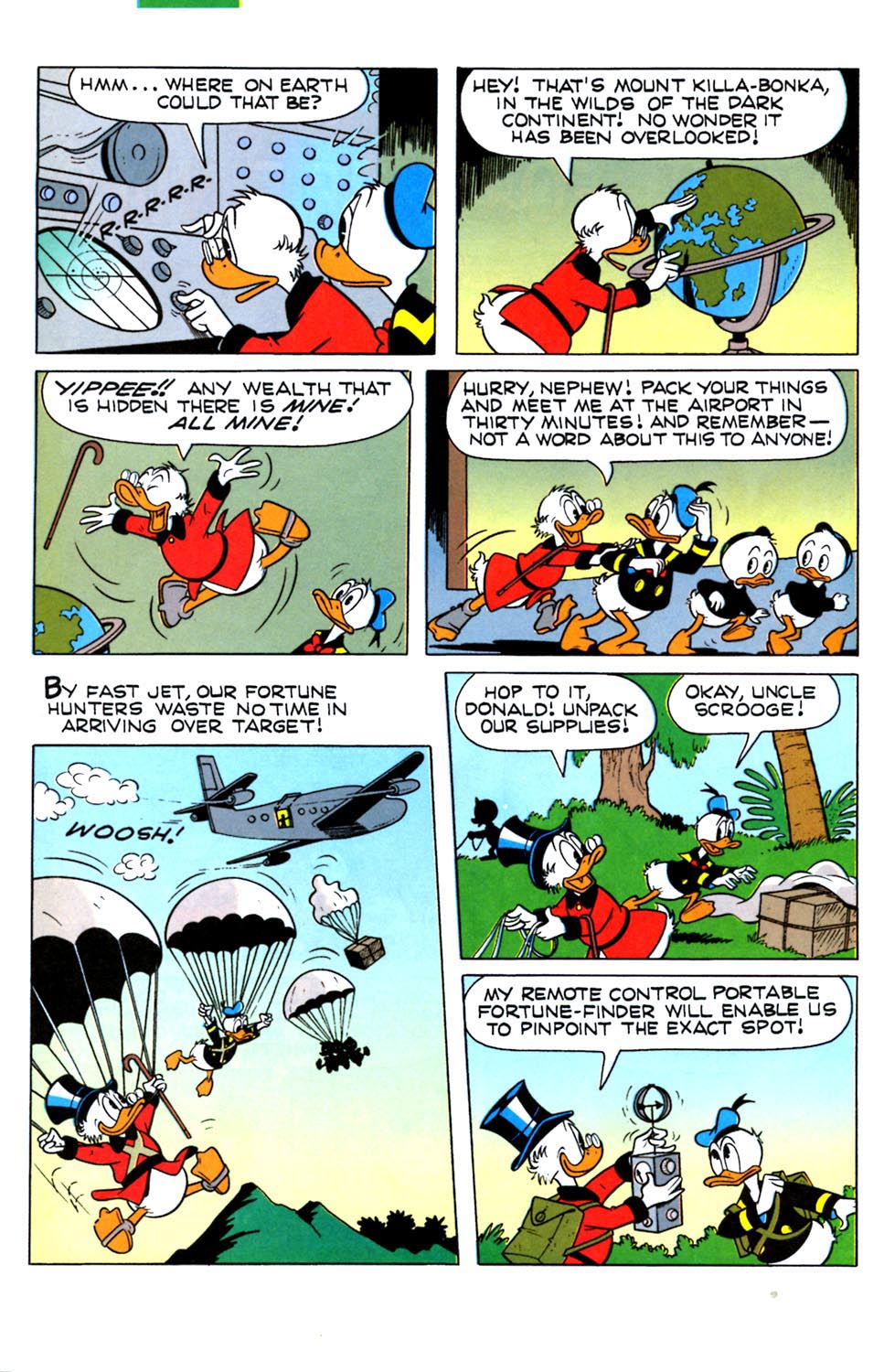 Read online Uncle Scrooge (1953) comic -  Issue #288 - 20
