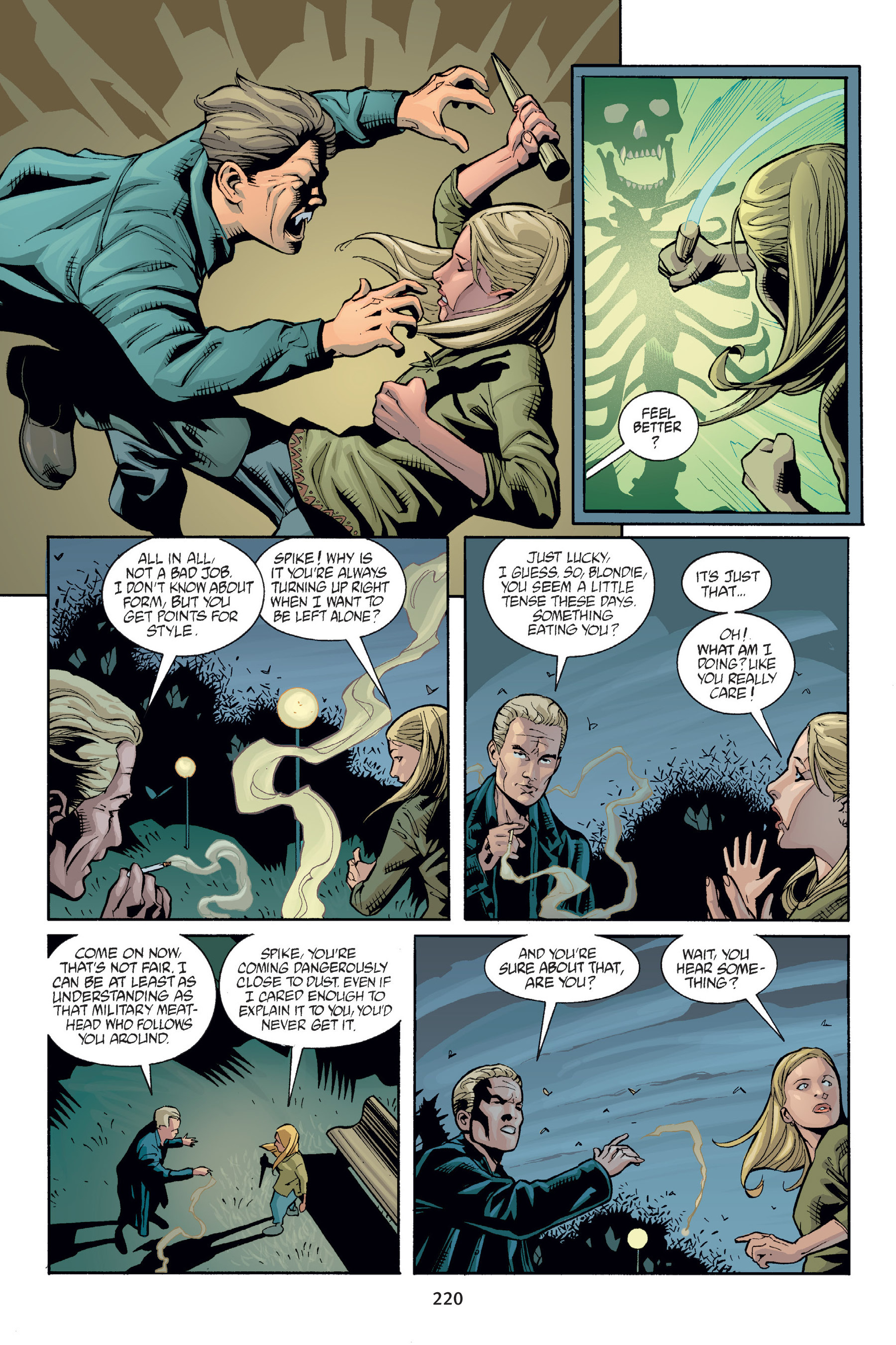 Read online Buffy the Vampire Slayer: Omnibus comic -  Issue # TPB 6 - 219