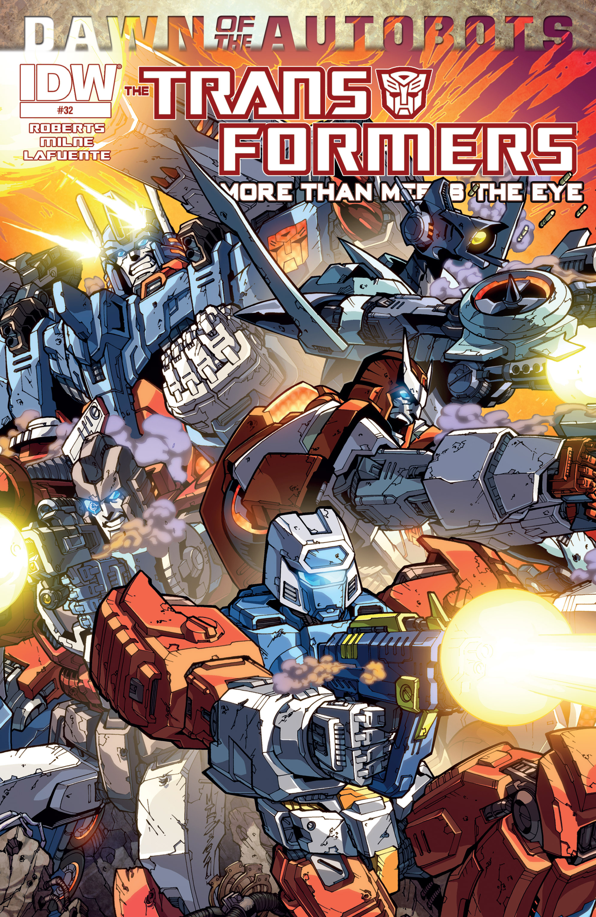 The Transformers: More Than Meets The Eye 32 Page 1