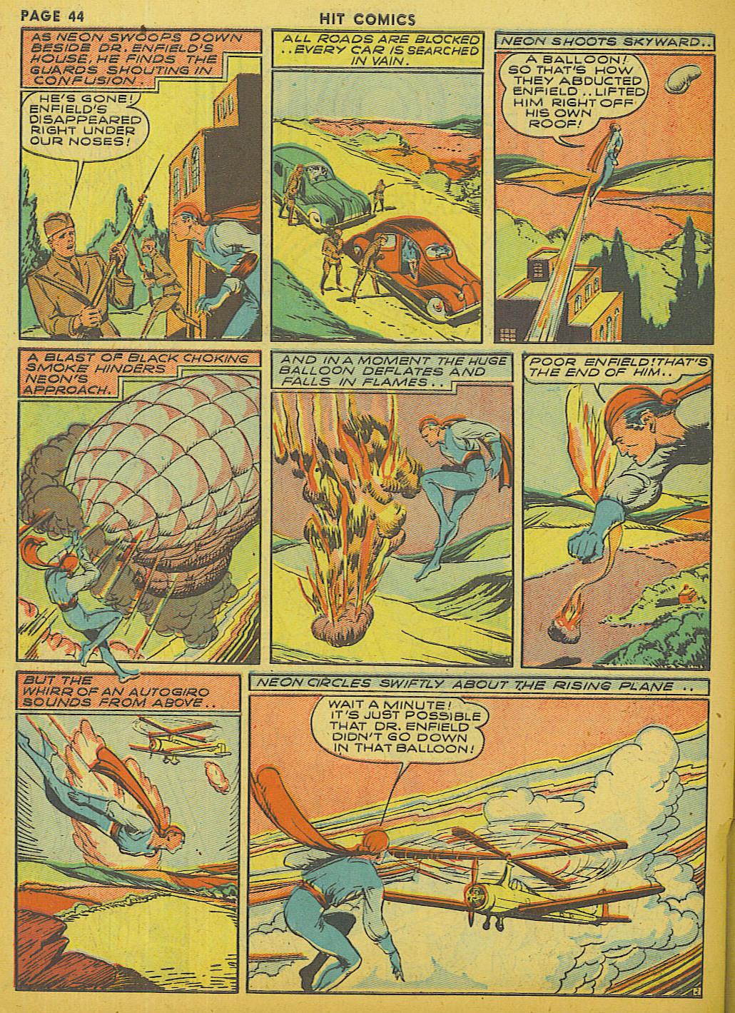 Read online Hit Comics comic -  Issue #13 - 46