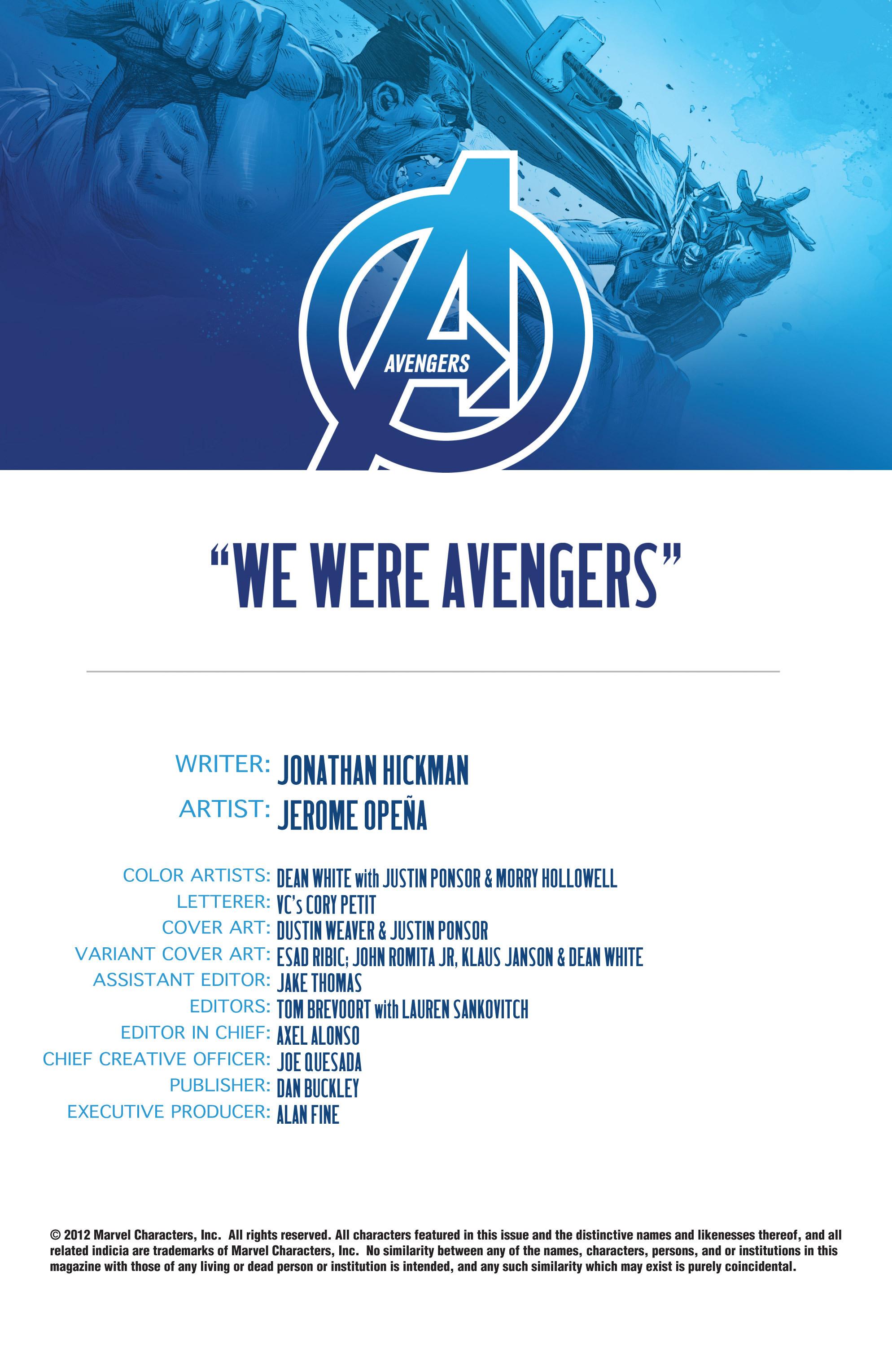 Read online Avengers (2013) comic -  Issue #Avengers (2013) _TPB 1 - 32