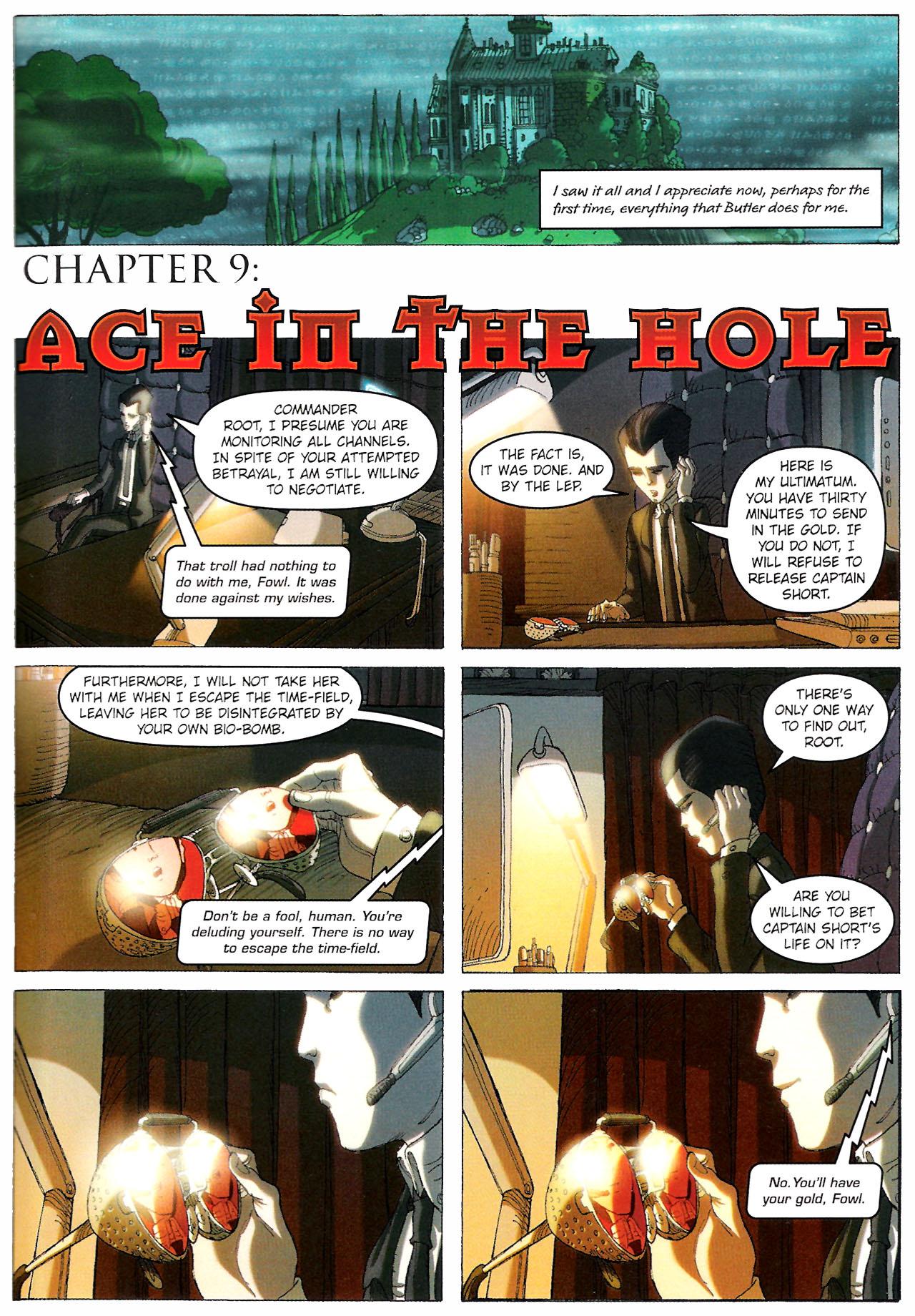 Read online Artemis Fowl: The Graphic Novel comic -  Issue #Artemis Fowl: The Graphic Novel Full - 100