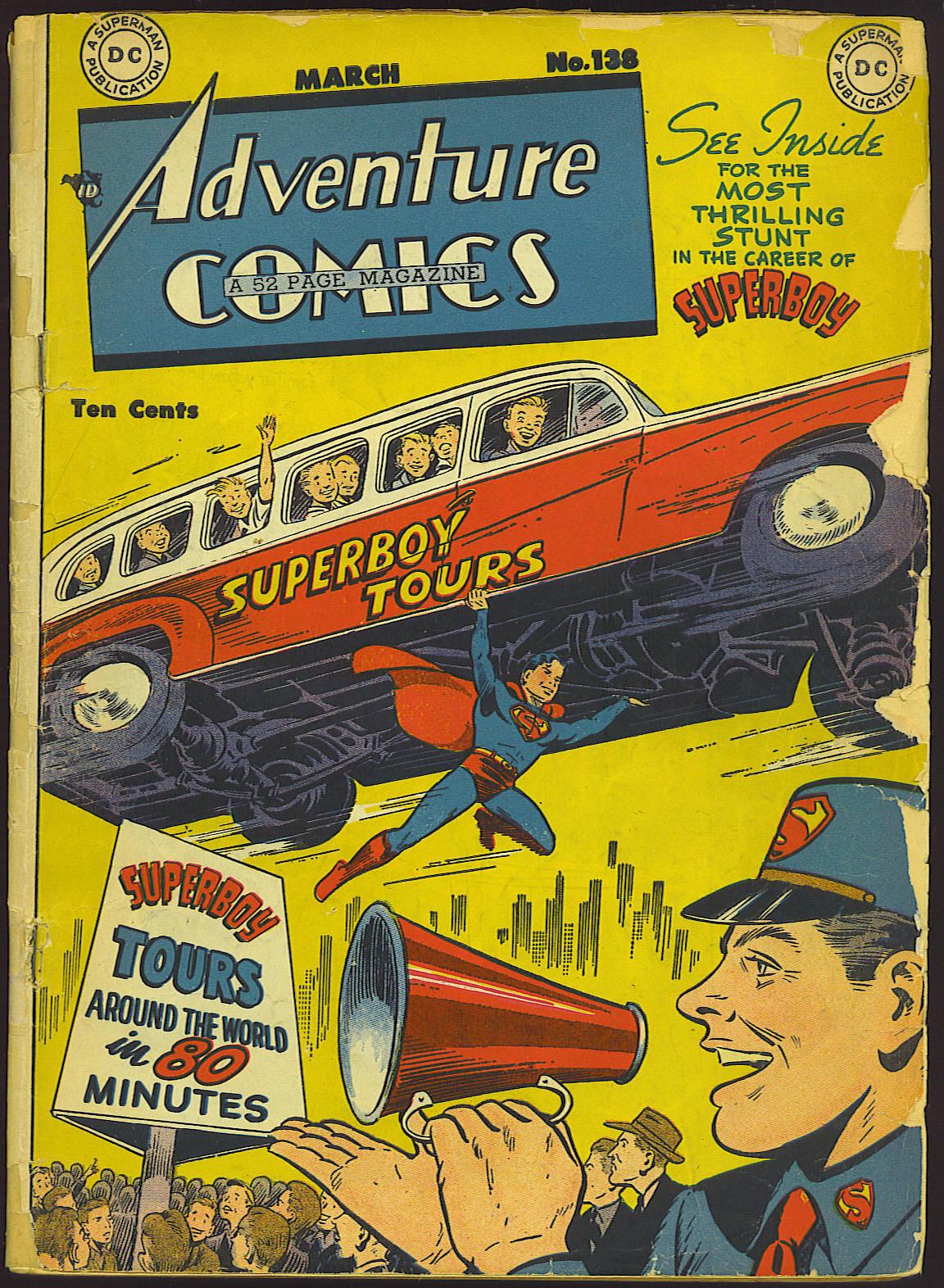 Read online Adventure Comics (1938) comic -  Issue #138 - 1
