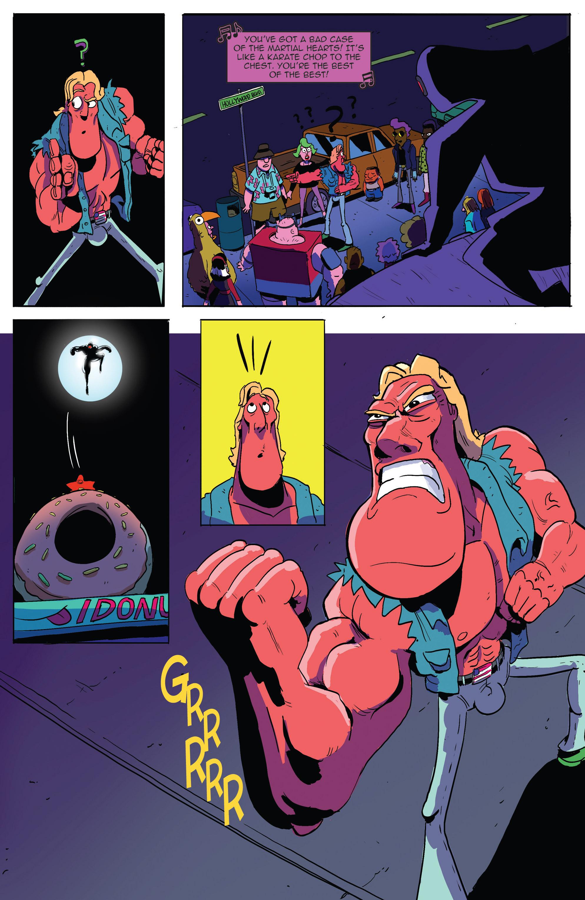 Read online AmeriKarate comic -  Issue #2 - 5