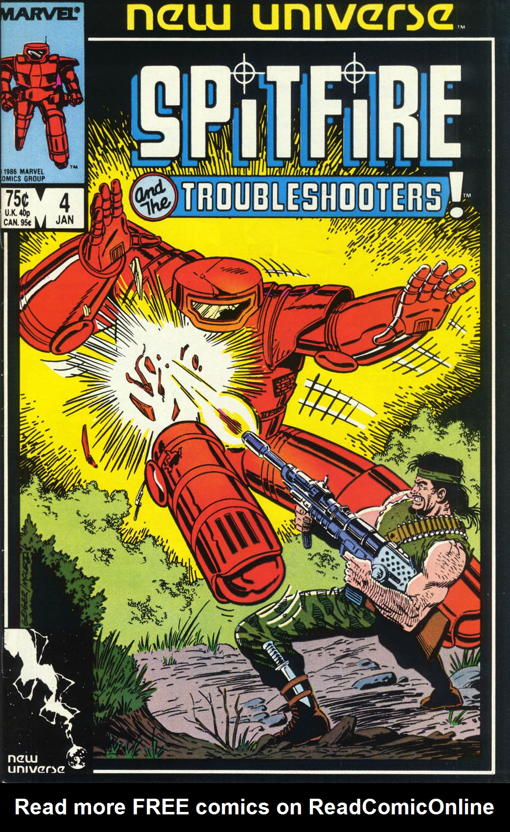 Read online Spitfire and the Troubleshooters comic -  Issue #4 - 1